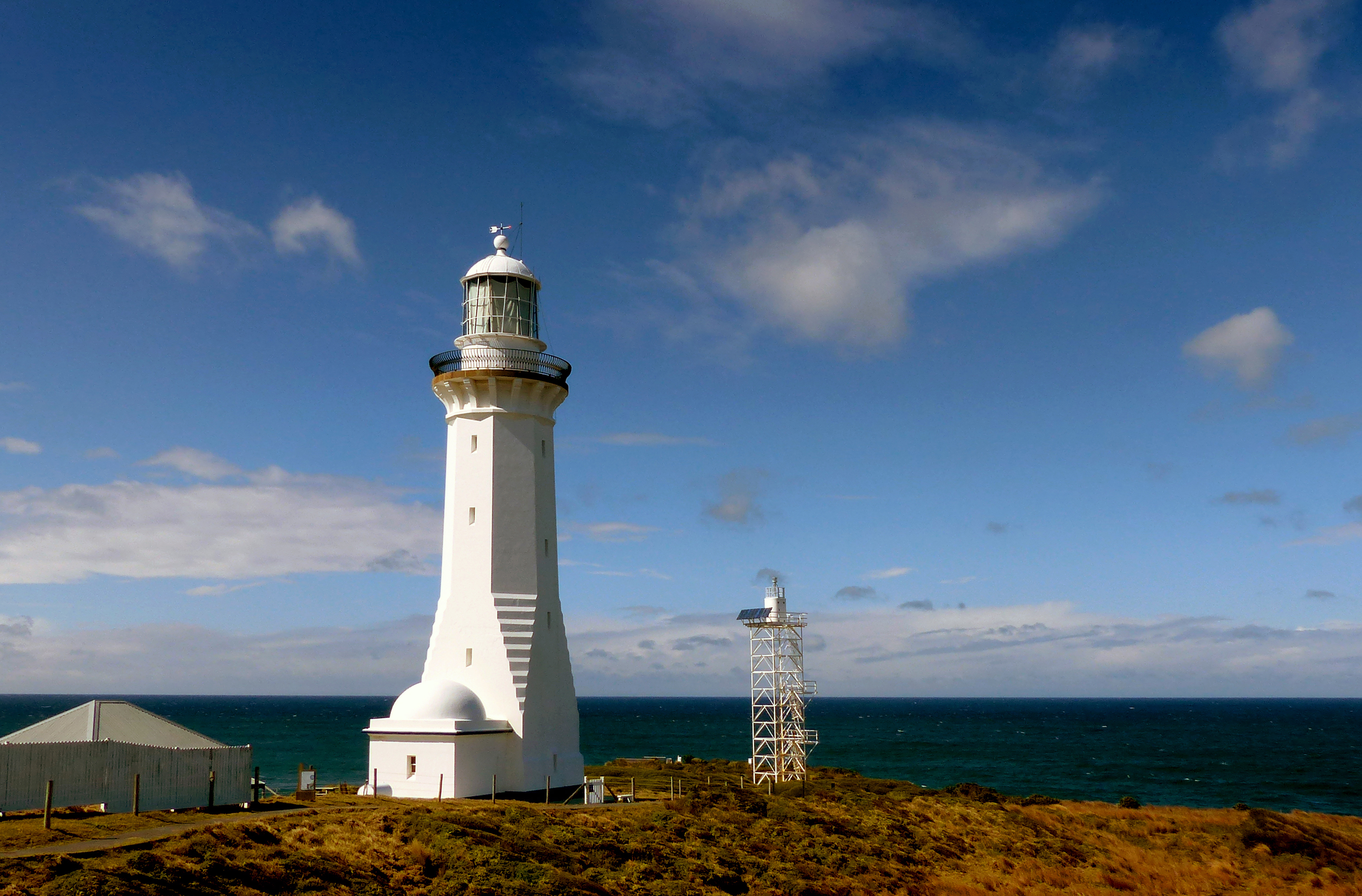 Green cape lighthouse. photo
