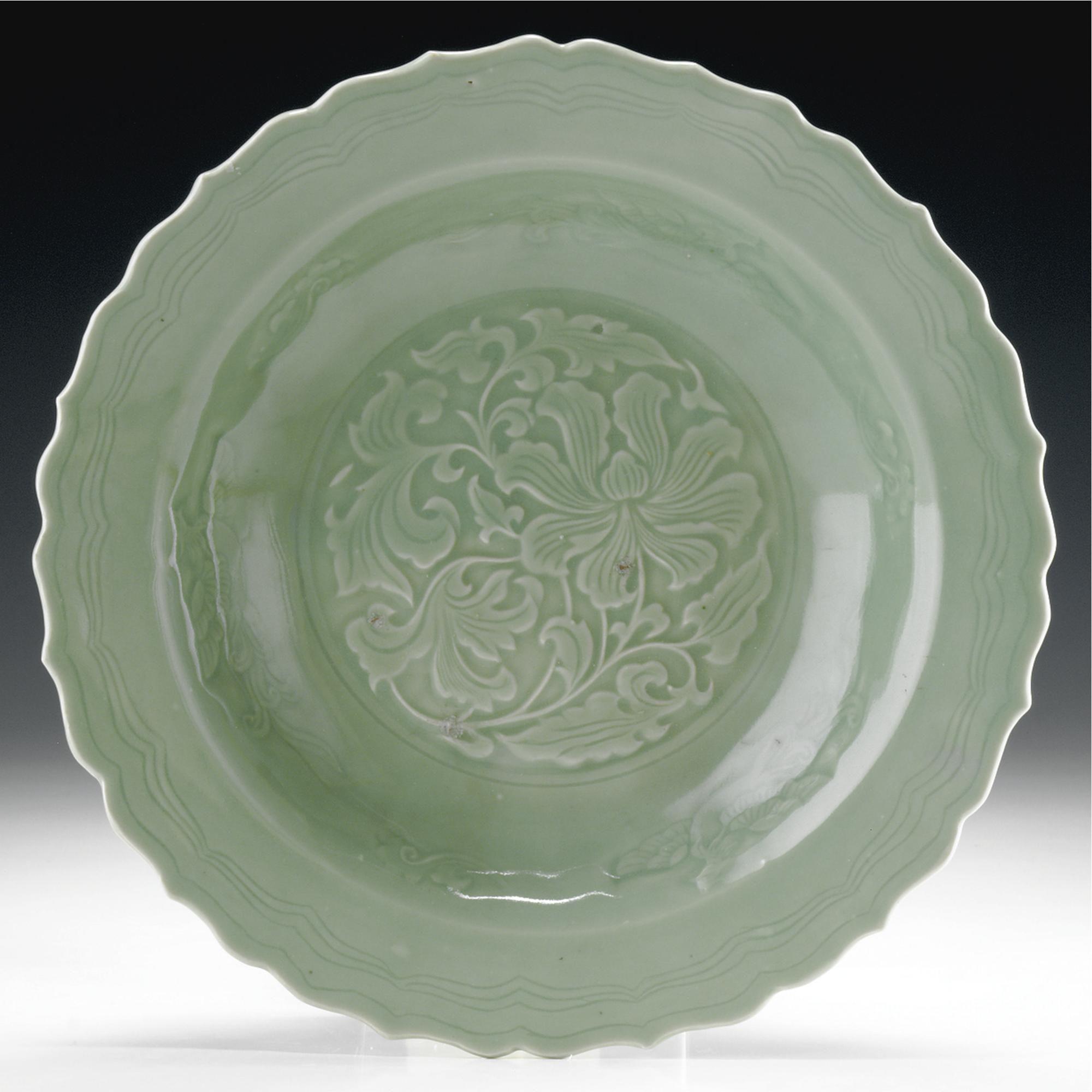 A CHINA CELADON DISH, 18TH CENTURY | Color - Celadon | Pinterest ...