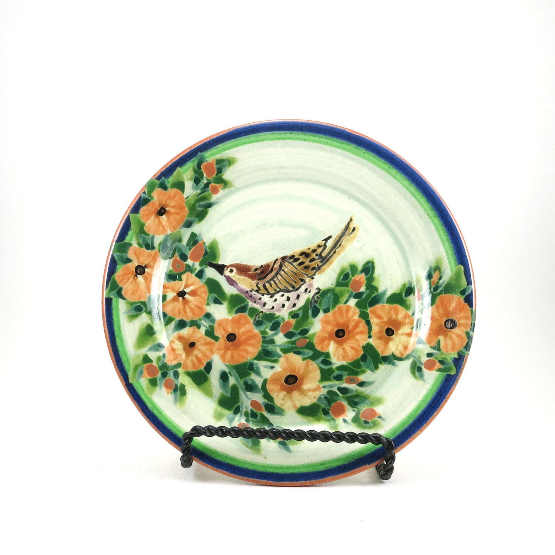Kiln House Pottery – Sandy Kreyer's Floral Ceramic Plates | Artizan Made