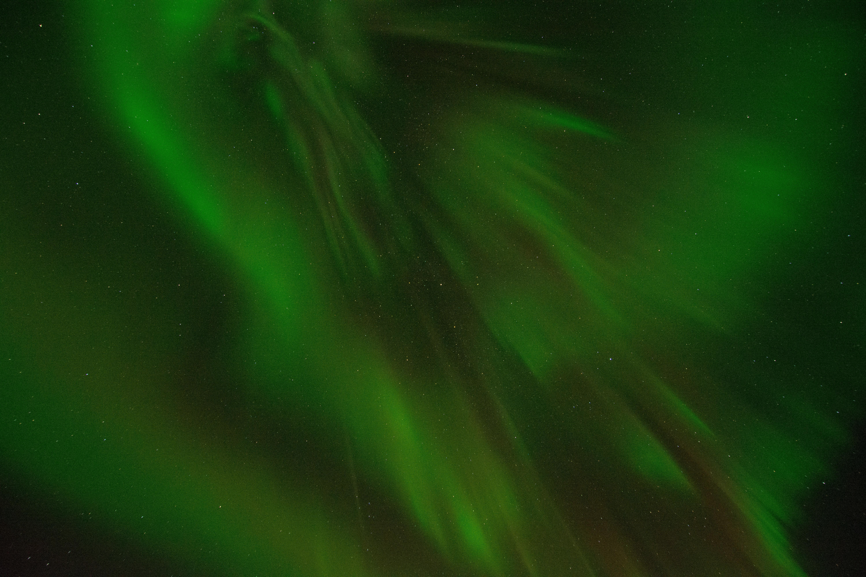 Green Color, Aurora borealis, Background, Bright, Colors, HQ Photo