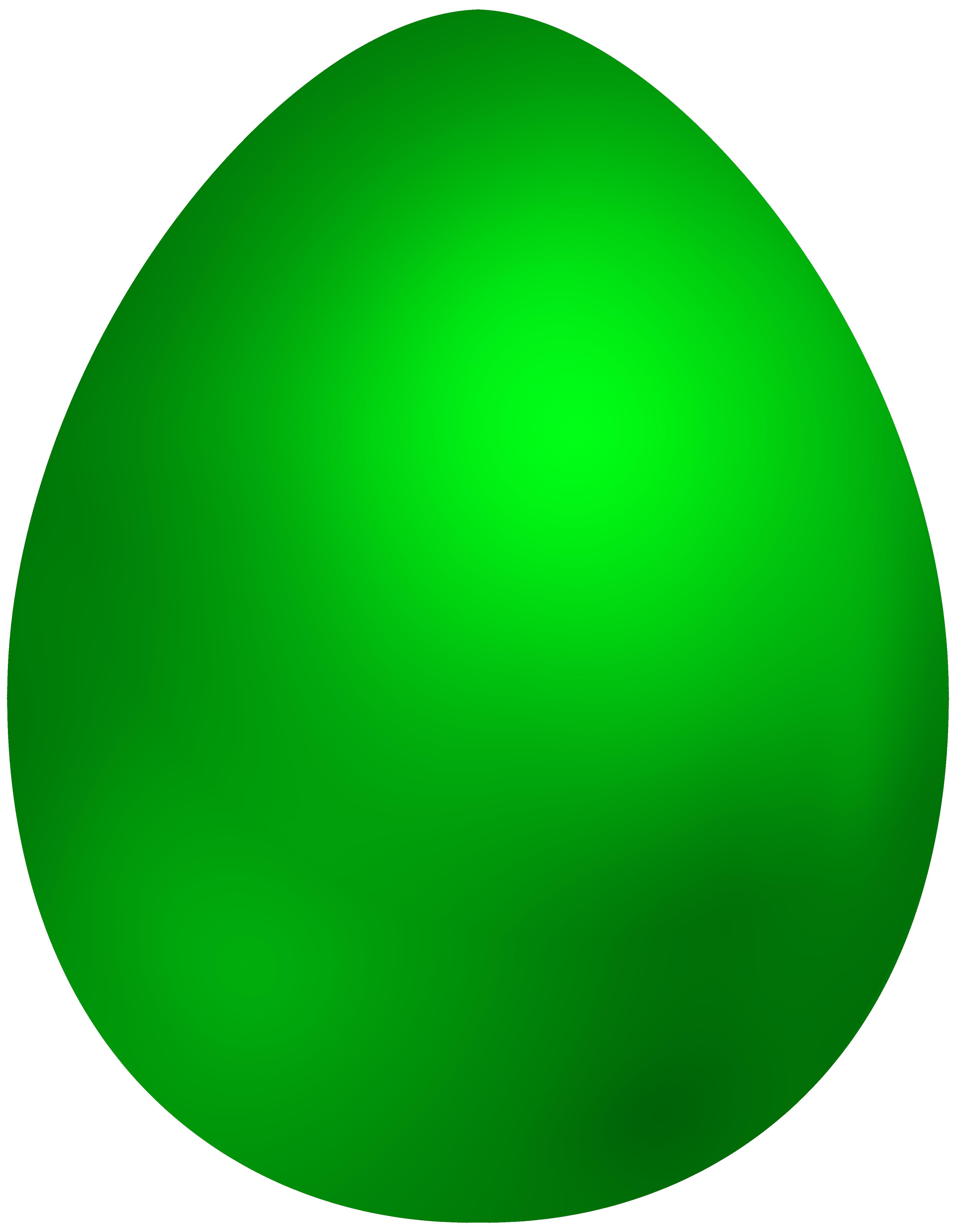 Green Easter Egg PNG Clip Art - Best WEB Clipart