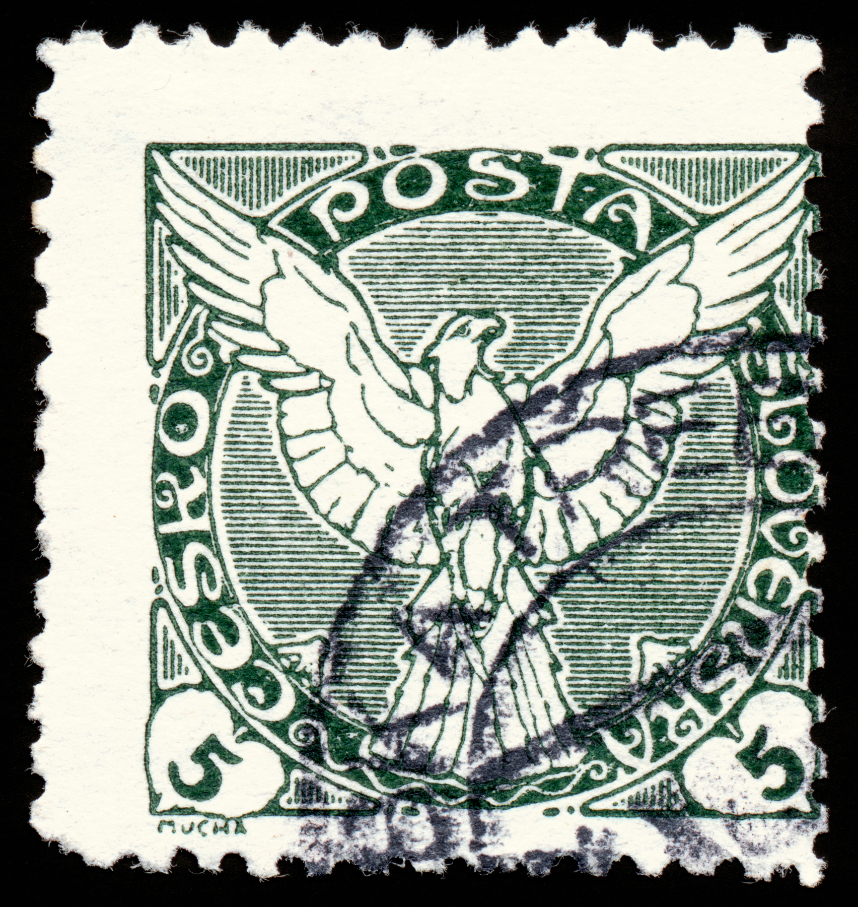 Green Falcon Stamp, Rectangular, Rectangle, Res, Resolution, HQ Photo