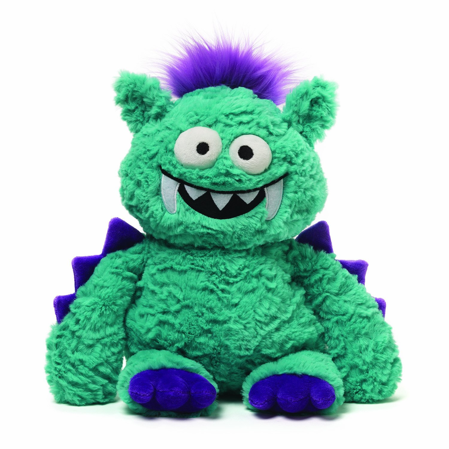 Green fluffy toy photo