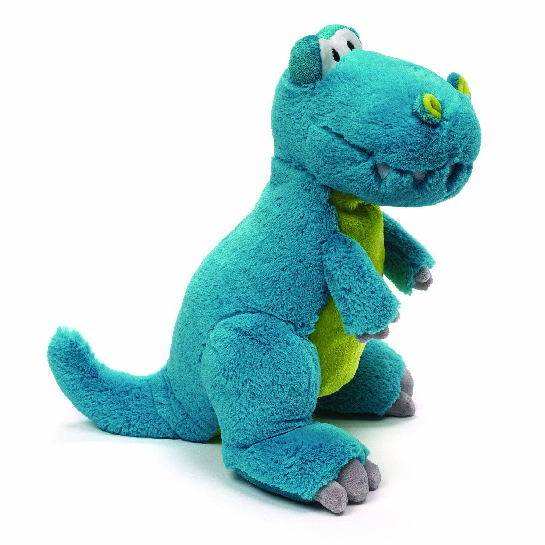 Amazon.com: GUND Rexie T-Rex Dinosaur Stuffed Animal Plush, Blue ...