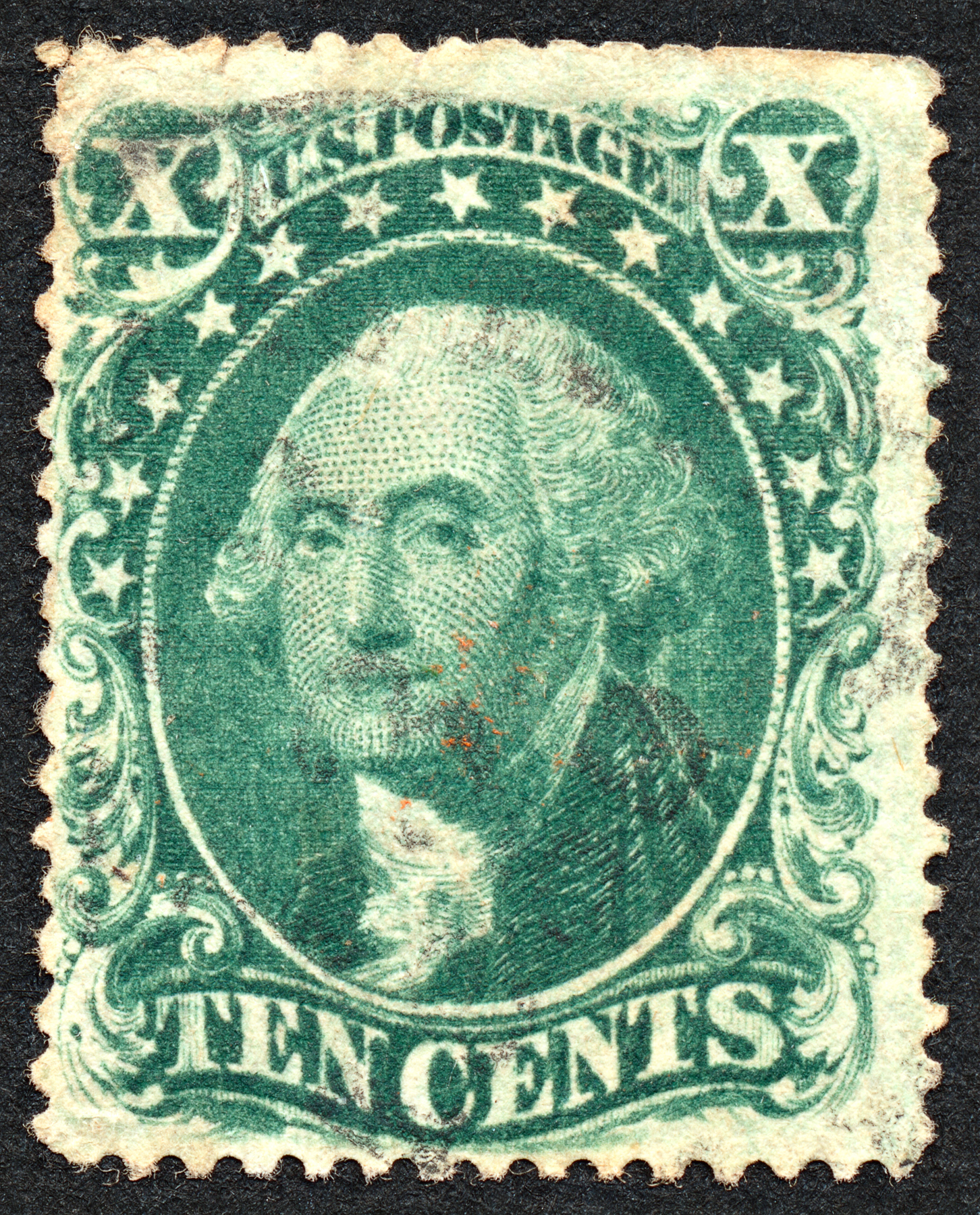 Green George Washington Stamp, 10, Somadjinn, Scrapbooking, Scrapbook, HQ Photo