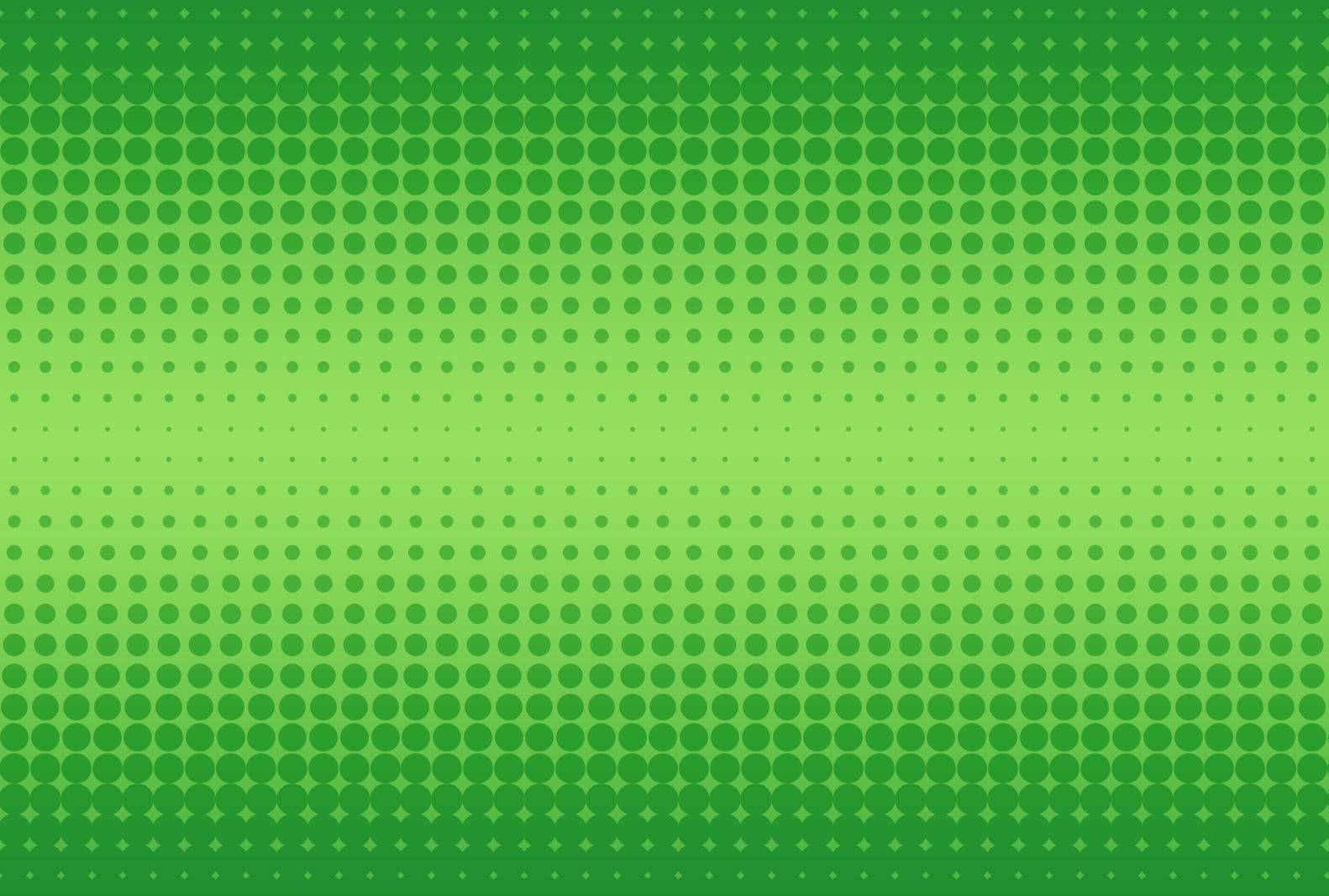 Green halftone background photo