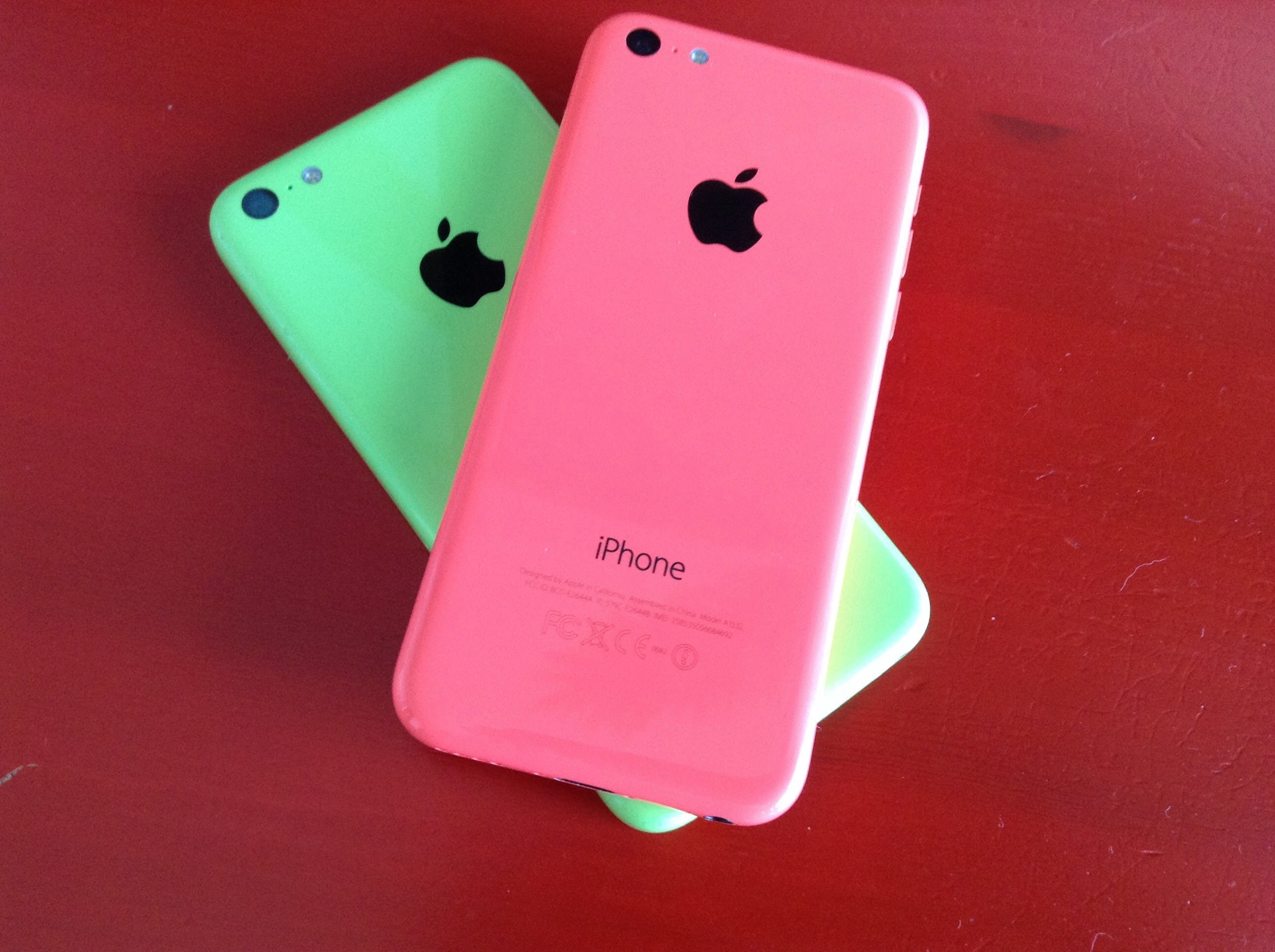 iPhone 5C: Pink or Green? - YouTube