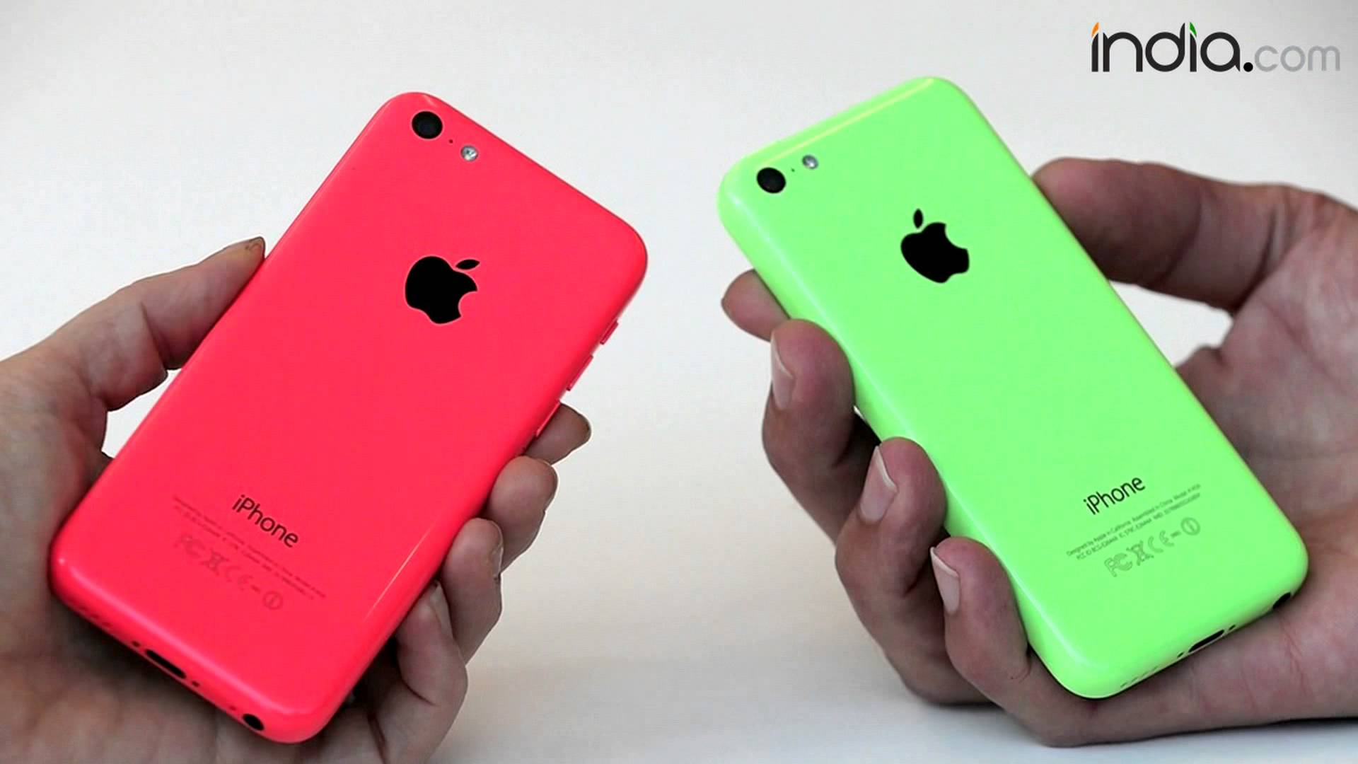 Apple iPhone 5C 8GB launching in India - YouTube
