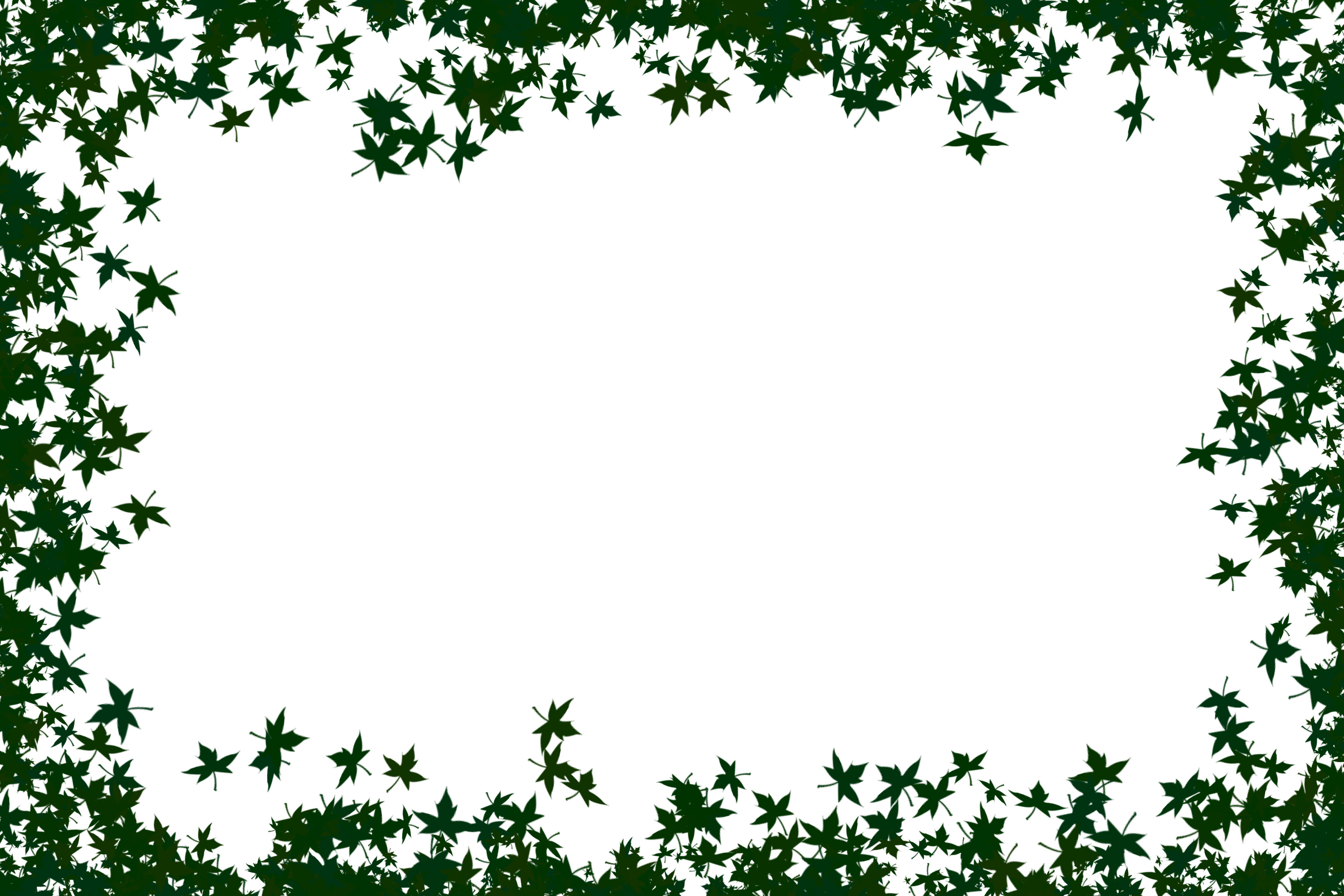 Free photo: Green Leaves Frame - Plant, Ornate, Object - Free ...