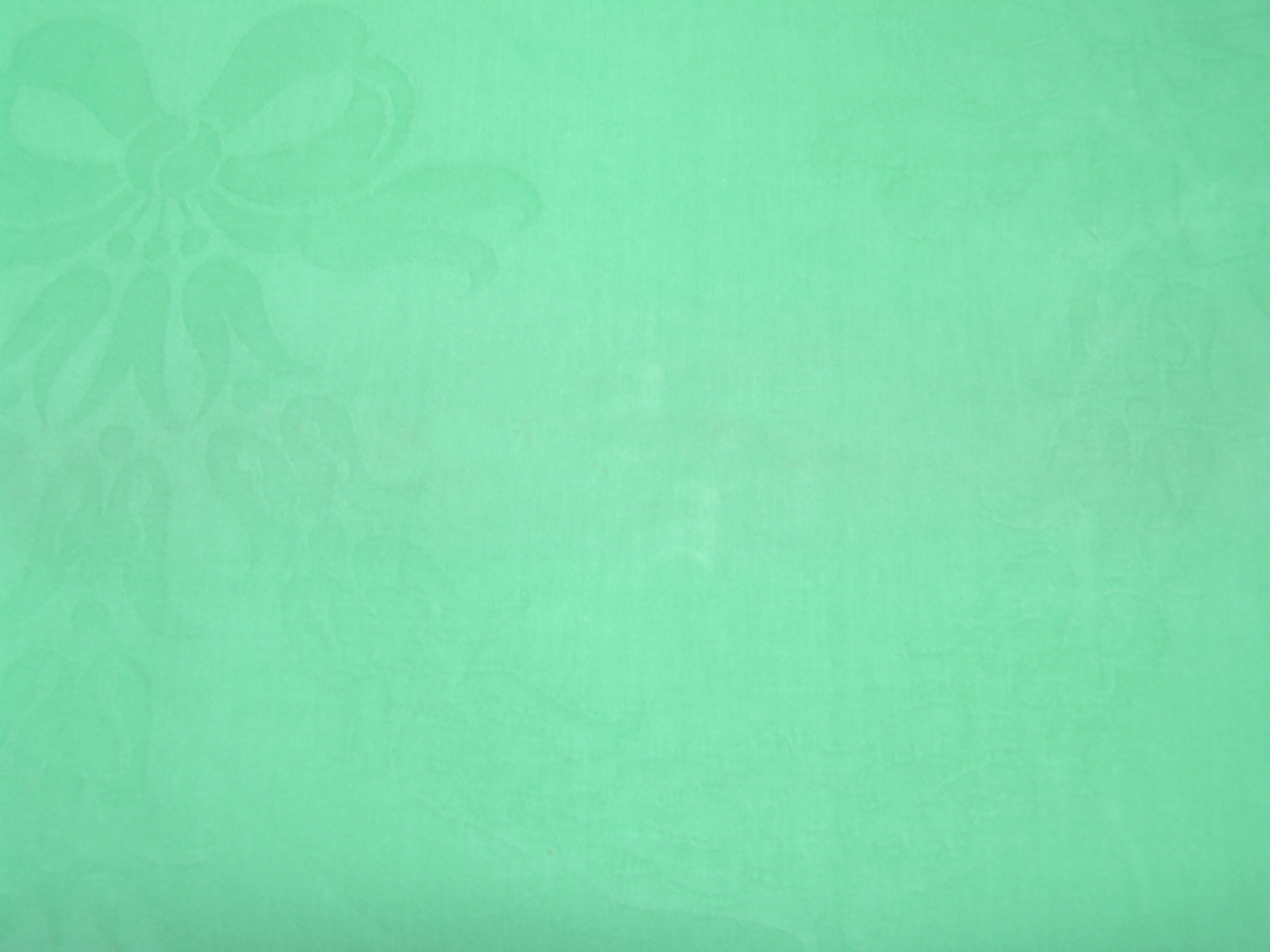 Cotton and Twill Linen Rentals Orlando | Mint Green Bow Cotton Linen