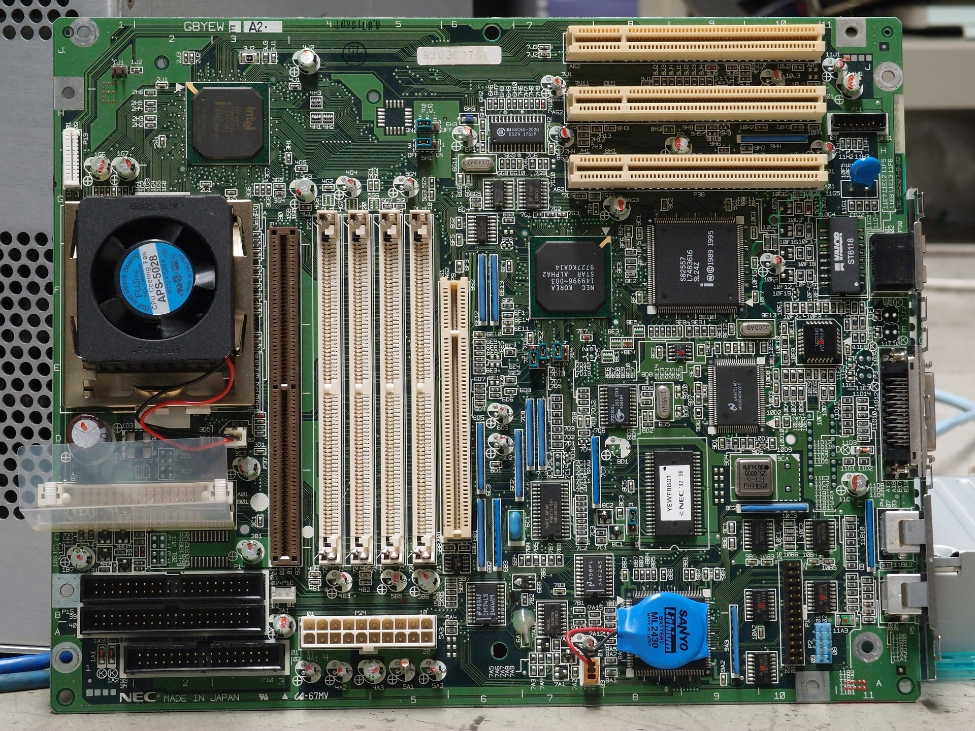 Multicolored Motherboard