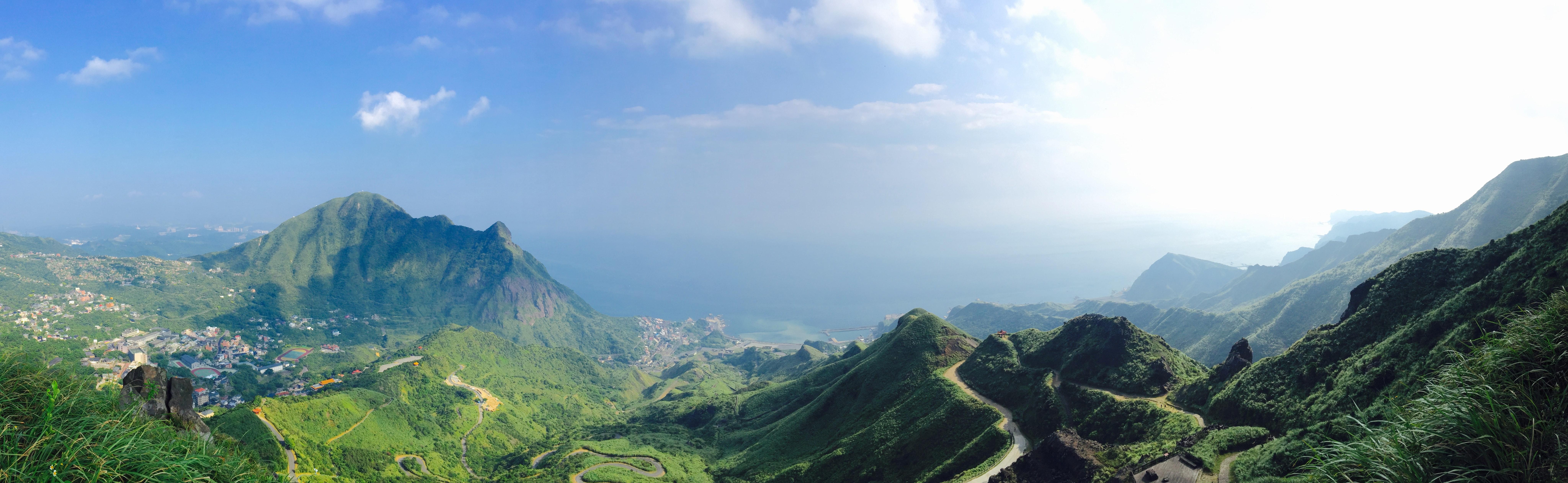 Green mountains photo