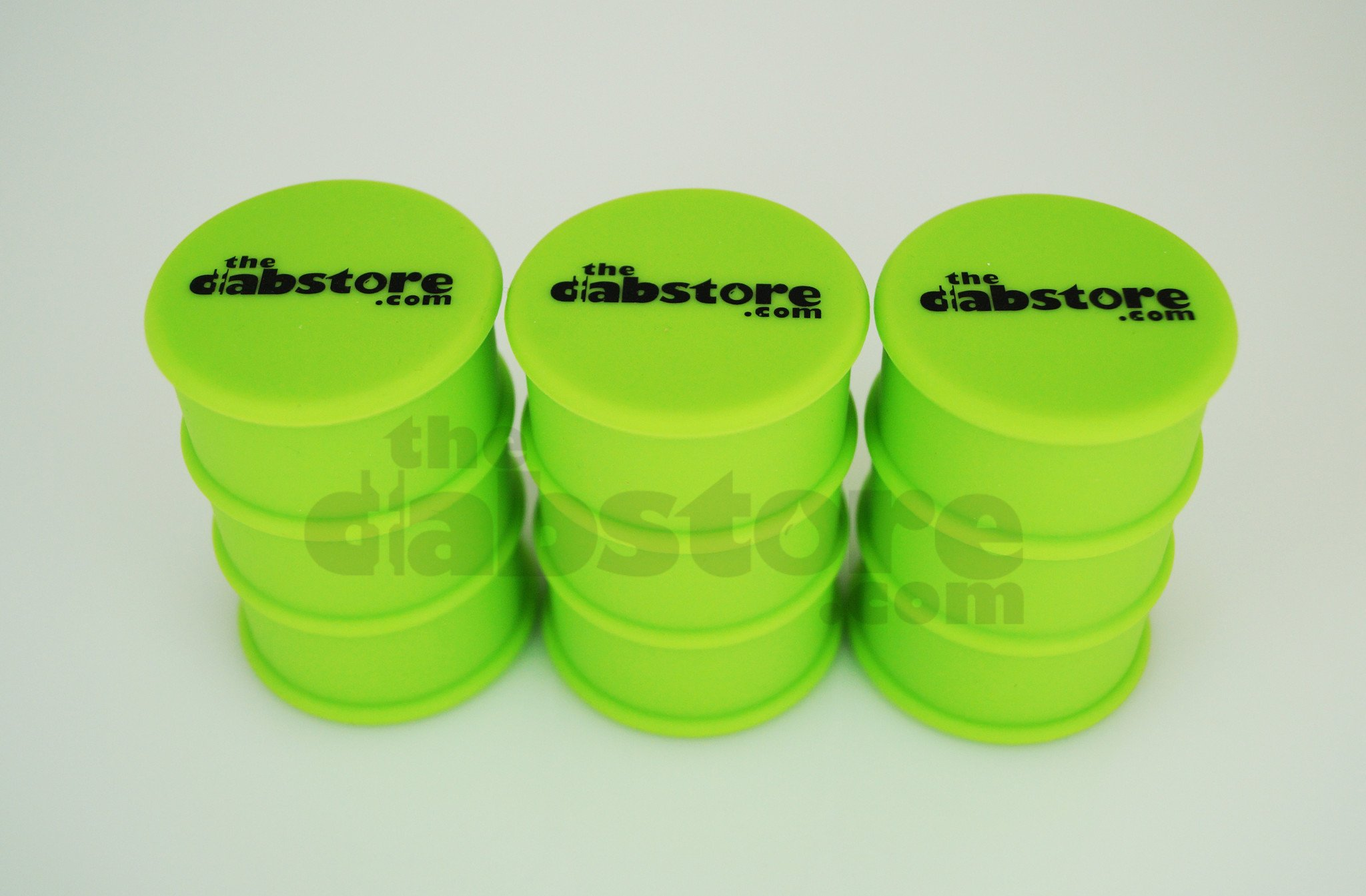 Green Silicone Oil Barrel Drum Non Stick Container | TheDabstore