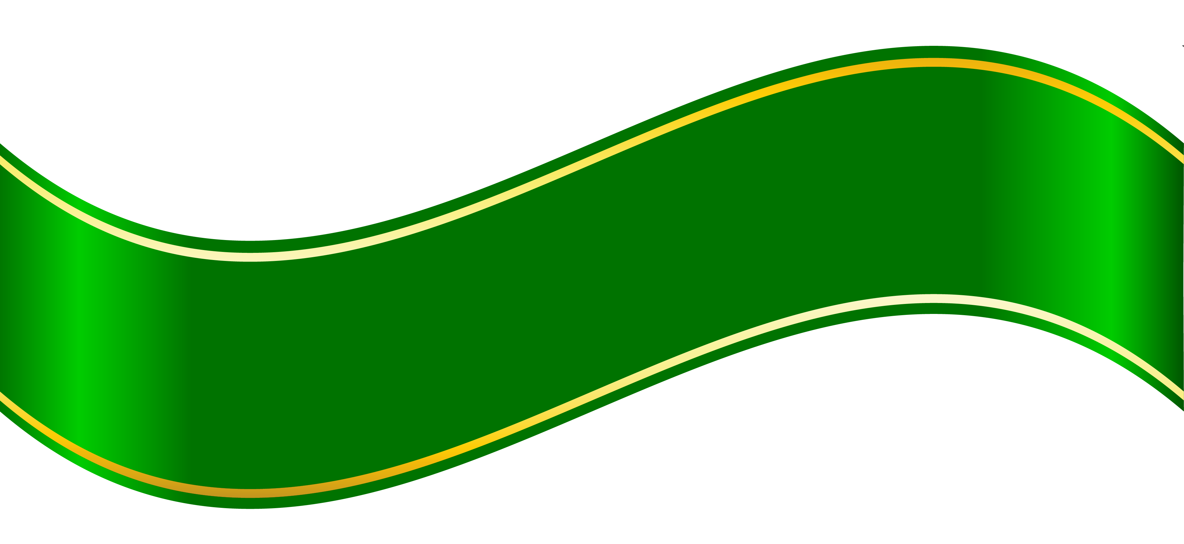 Green Ribbon Download Transparent PNG Image | PNG Arts