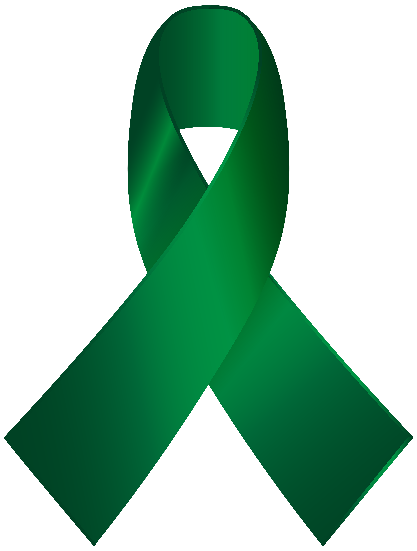 Green Awareness Ribbon PNG Clip Art - Best WEB Clipart