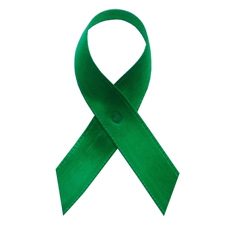 Amazon.com: USA Made Emerald Green Satin Awareness Ribbons - Bag of ...