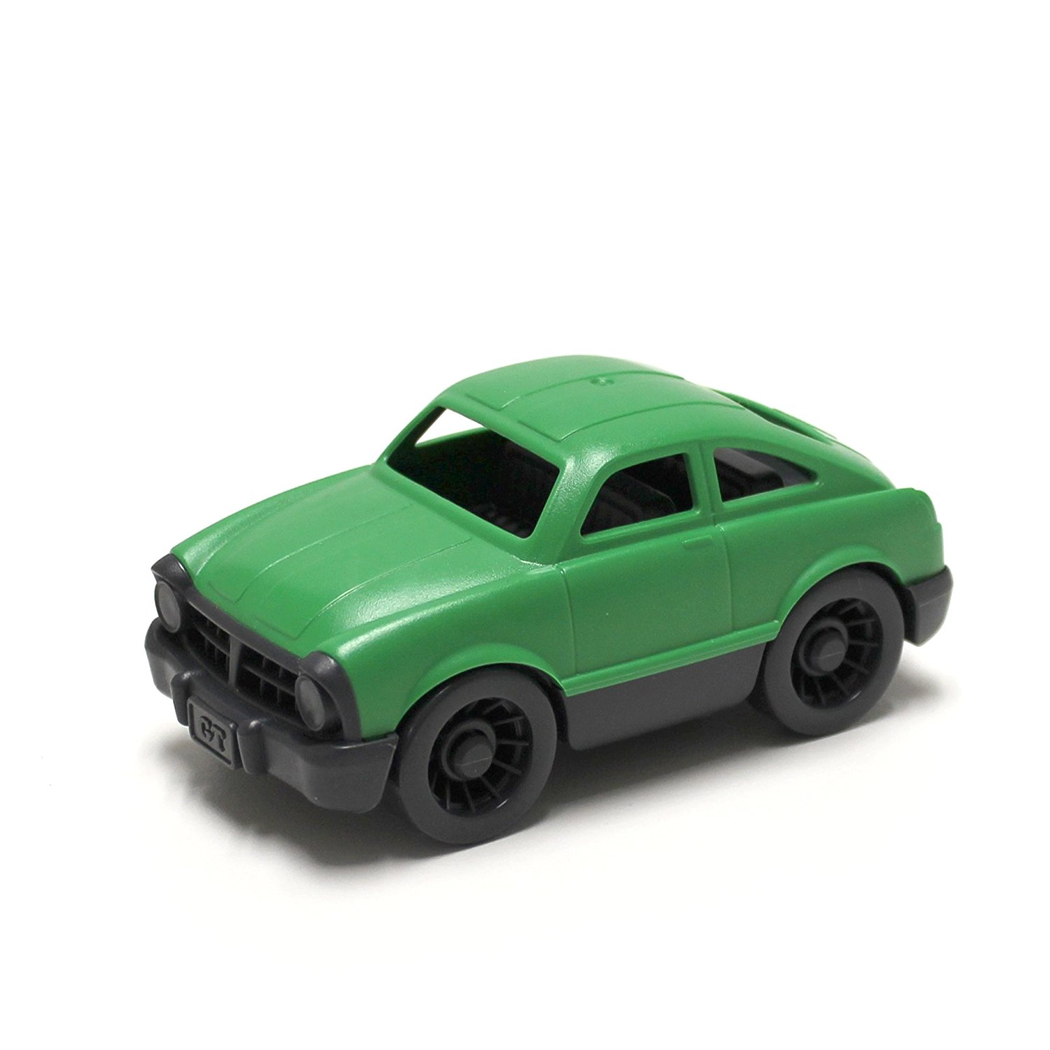 Green toy car photo