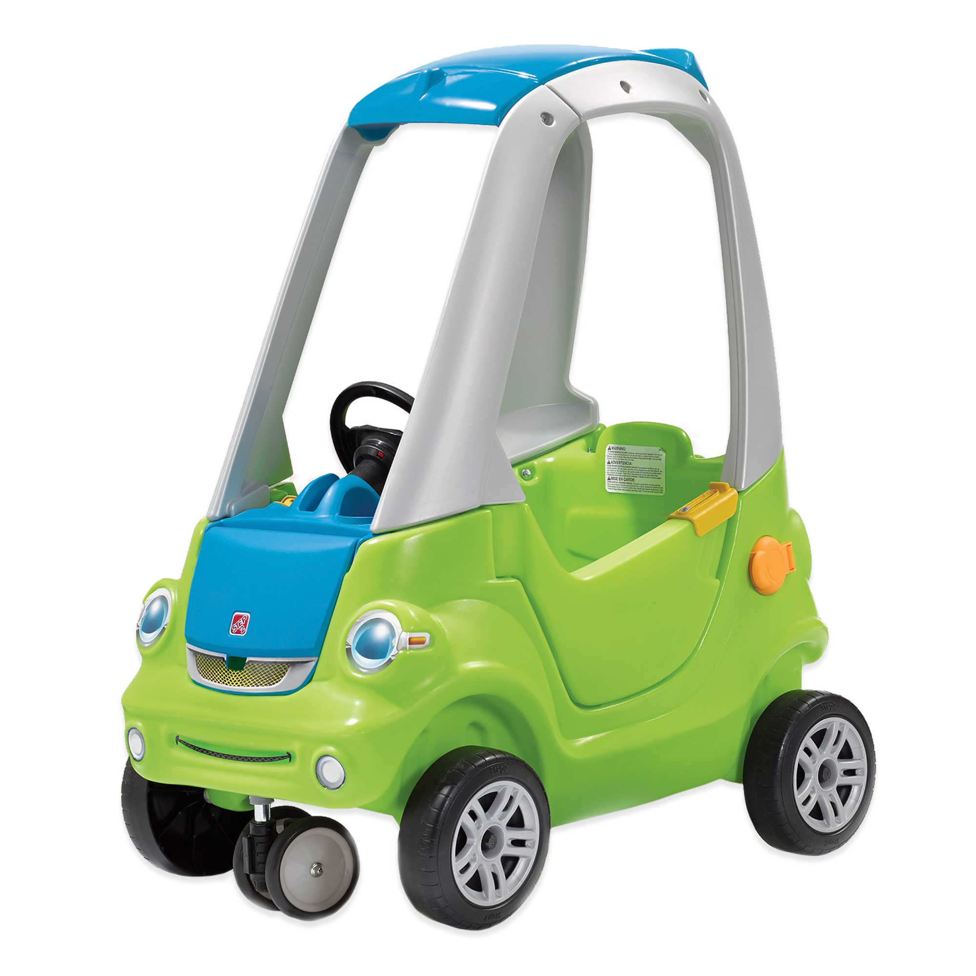 Step2 Toddler Outdoor Push Ride On Toy Car for Kids Easy Turn Coupe ...