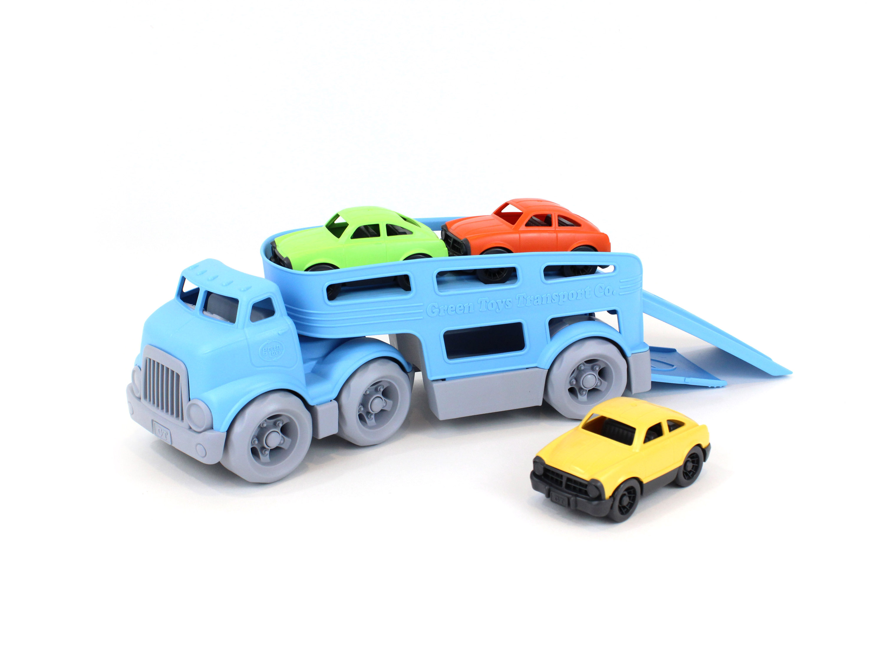 Green Toys Car Carrier w/ Cars - Walmart.com