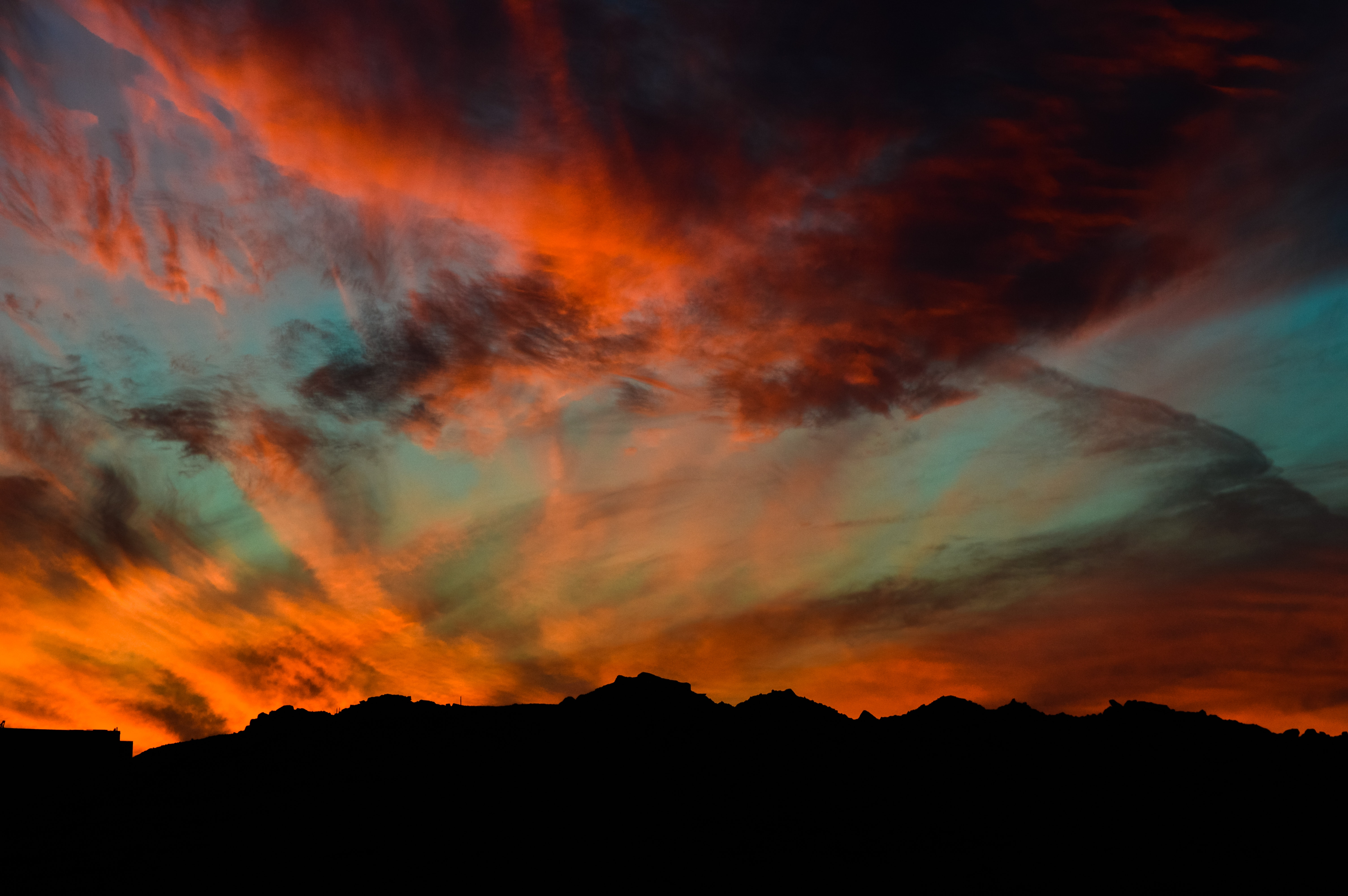 Free Photo Green Skies And Black Clouds Photography Abstract Scenic Night Free Download