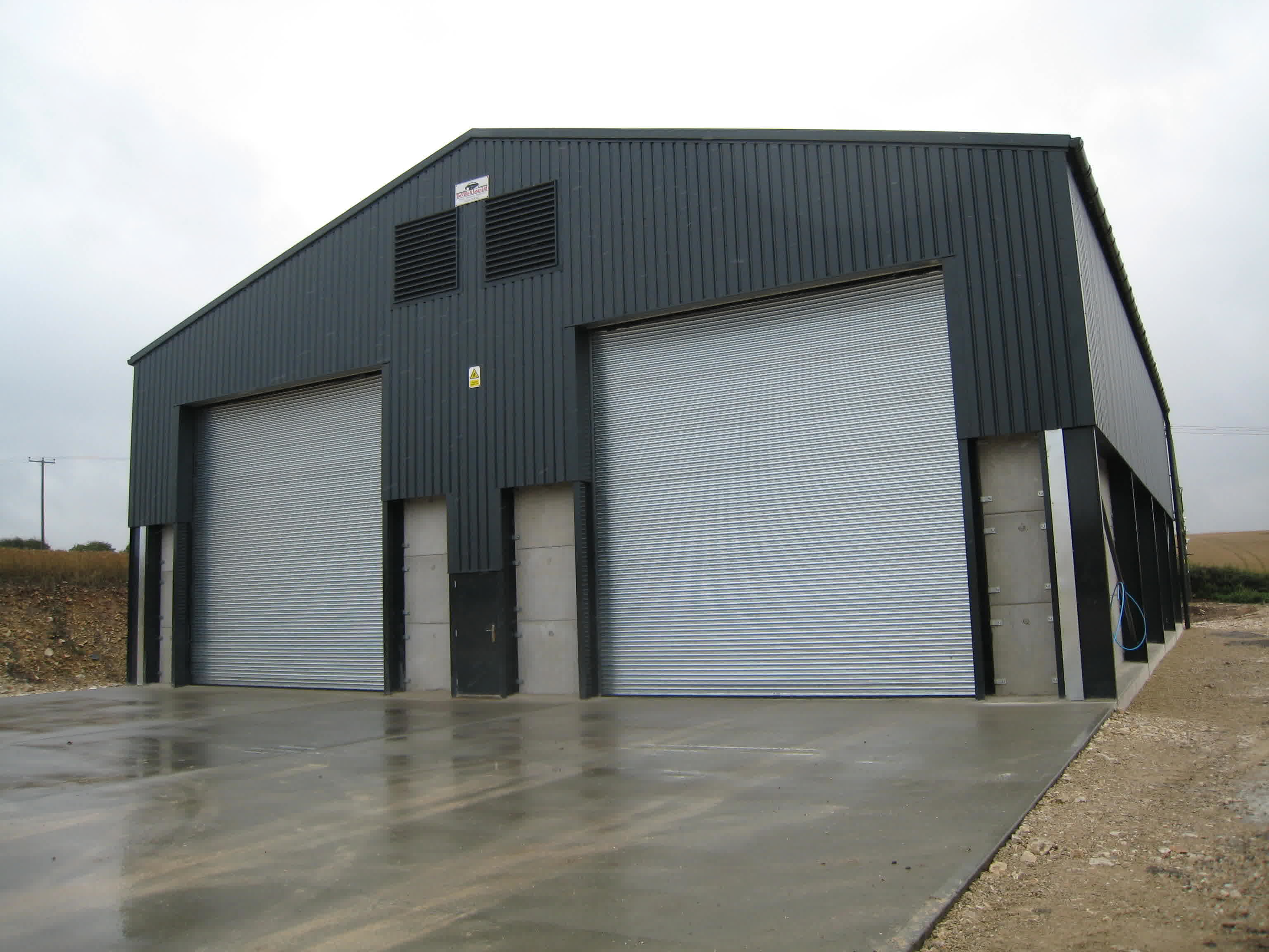 Minimalist Grey And White Nuance Of The Grain Steel Buildings Can Be ...