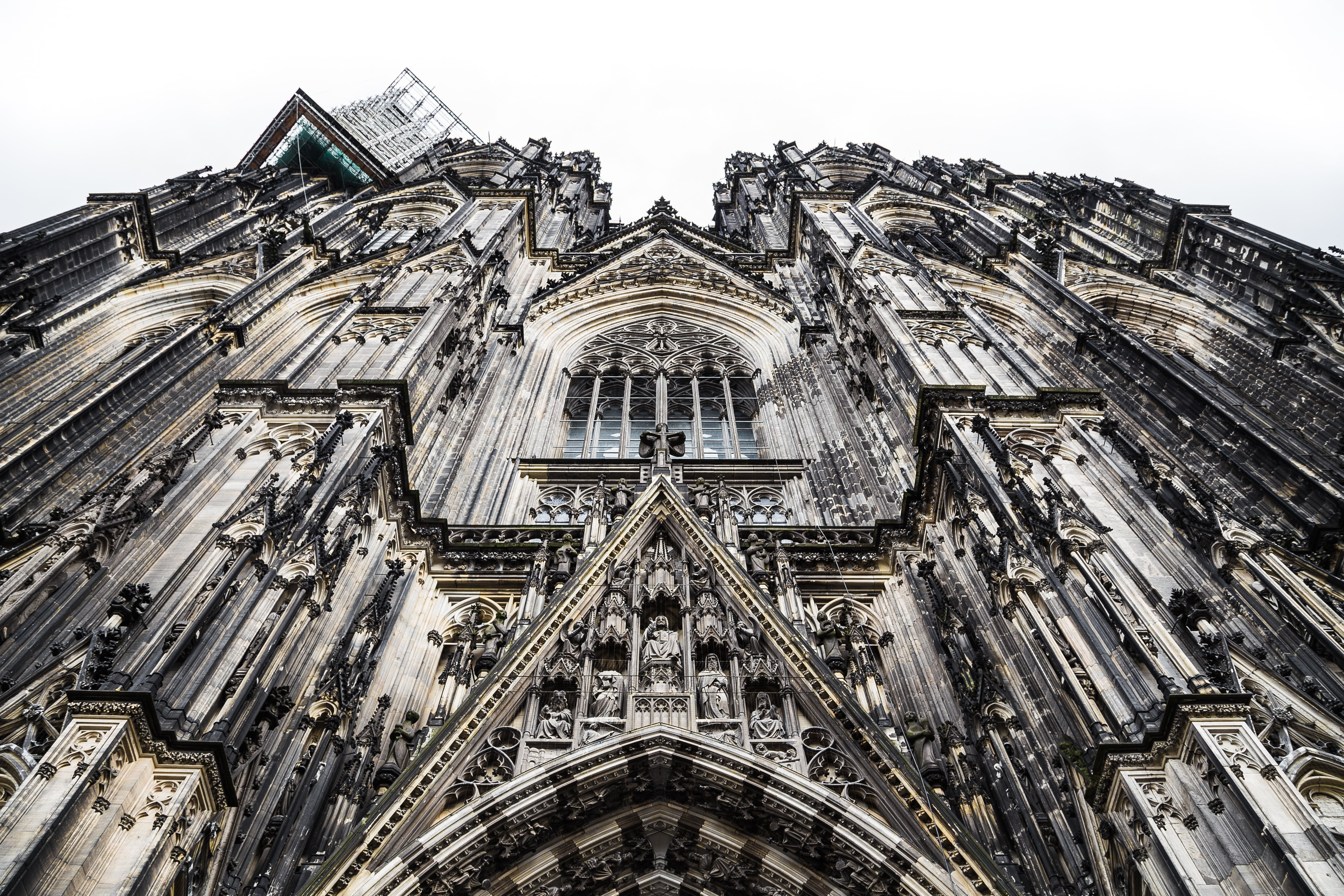 Grey concrete cathedral photo