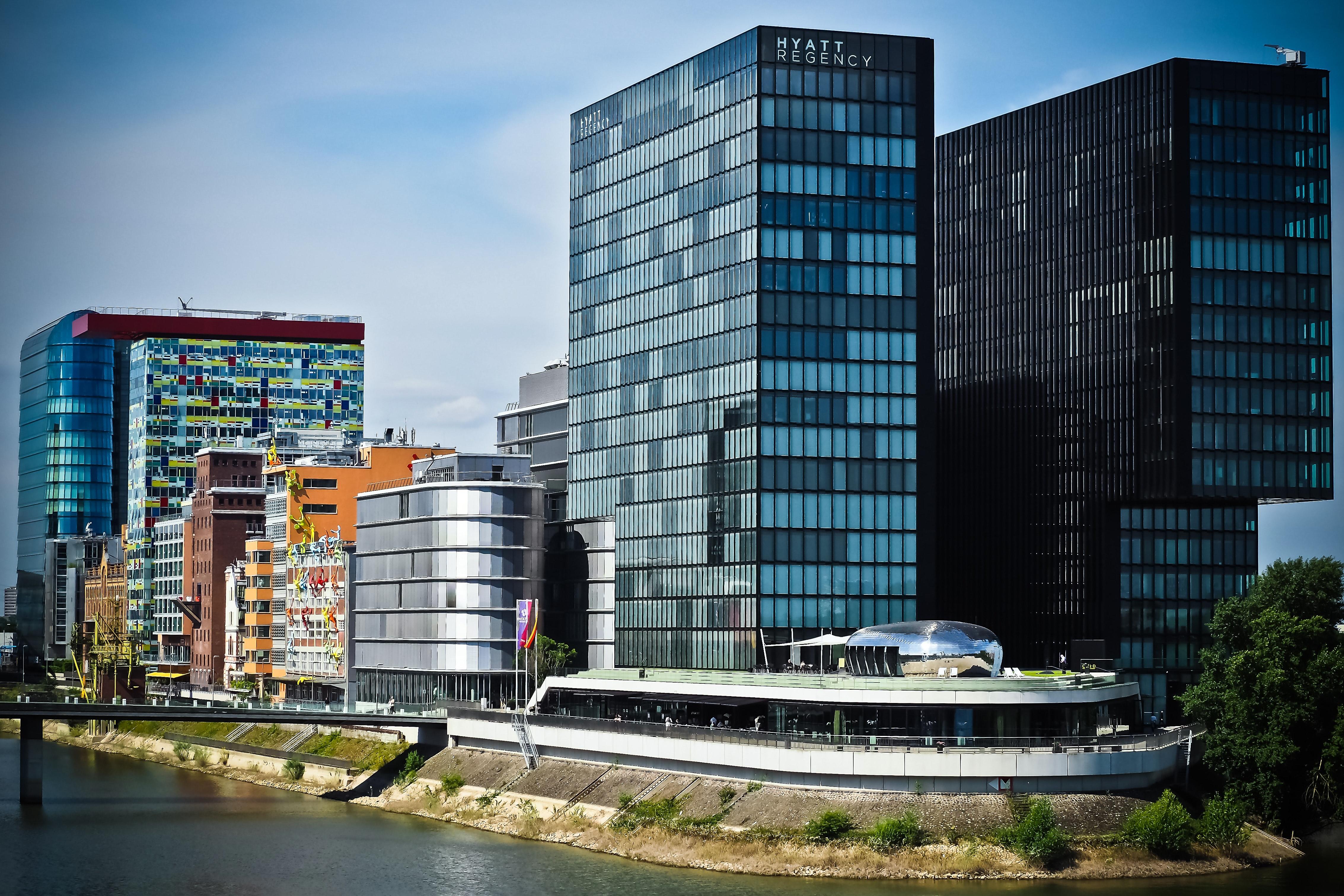 Grey Concrete High Building, Architecture, Buildings, City, Cityscape, HQ Photo