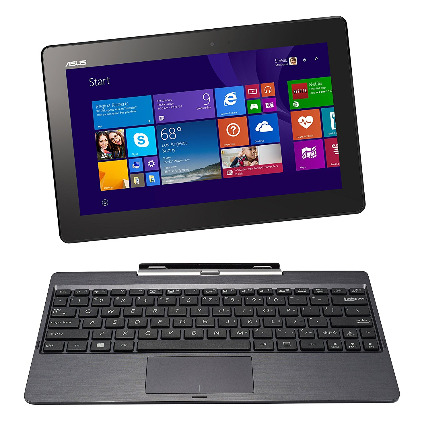 Amazon.com: ASUS T100 10-Inch Wide Laptop [2014]: Computers ...