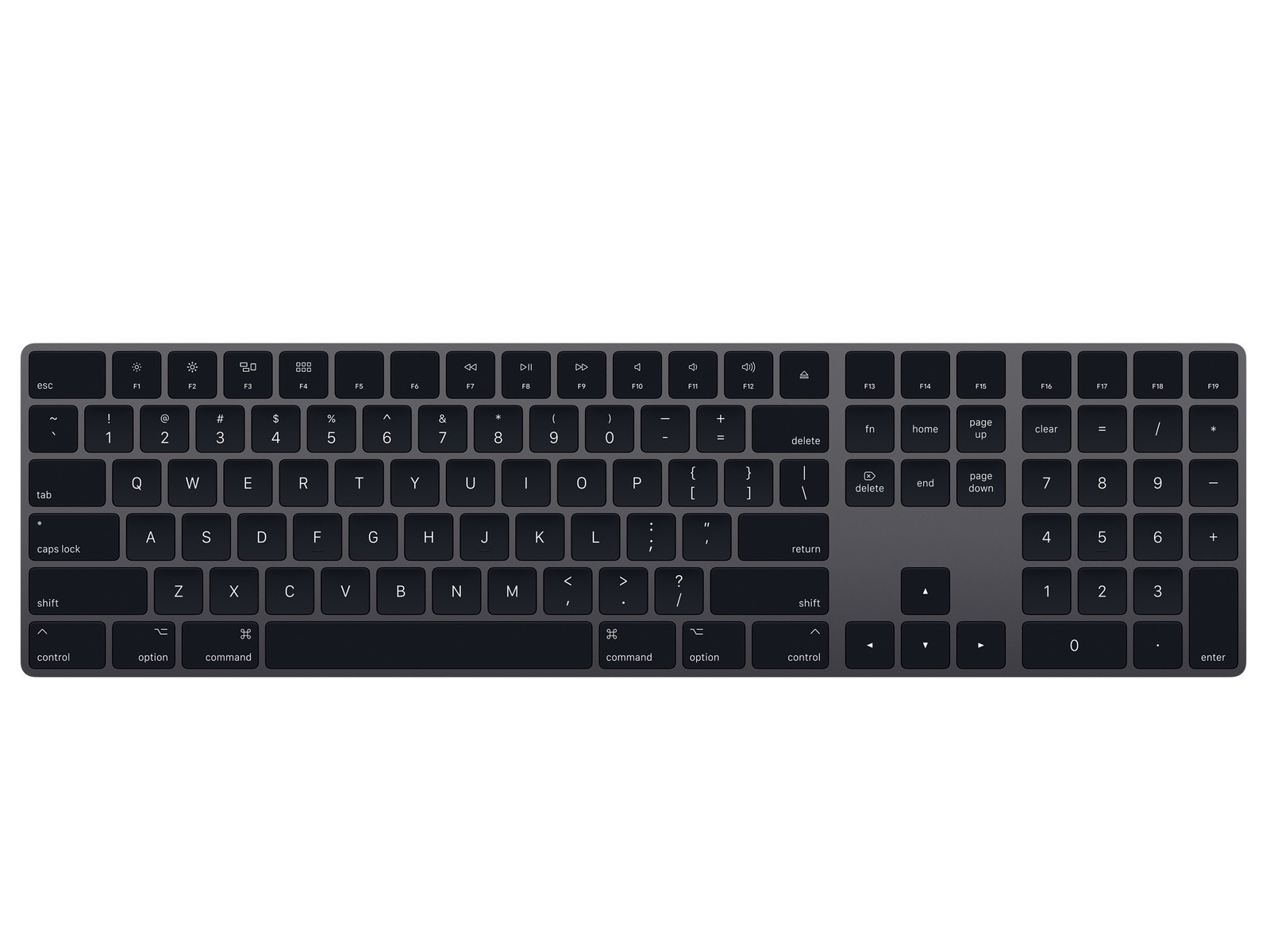 Apple's Space Gray Magic Keyboard, Trackpad, and Mouse now available ...