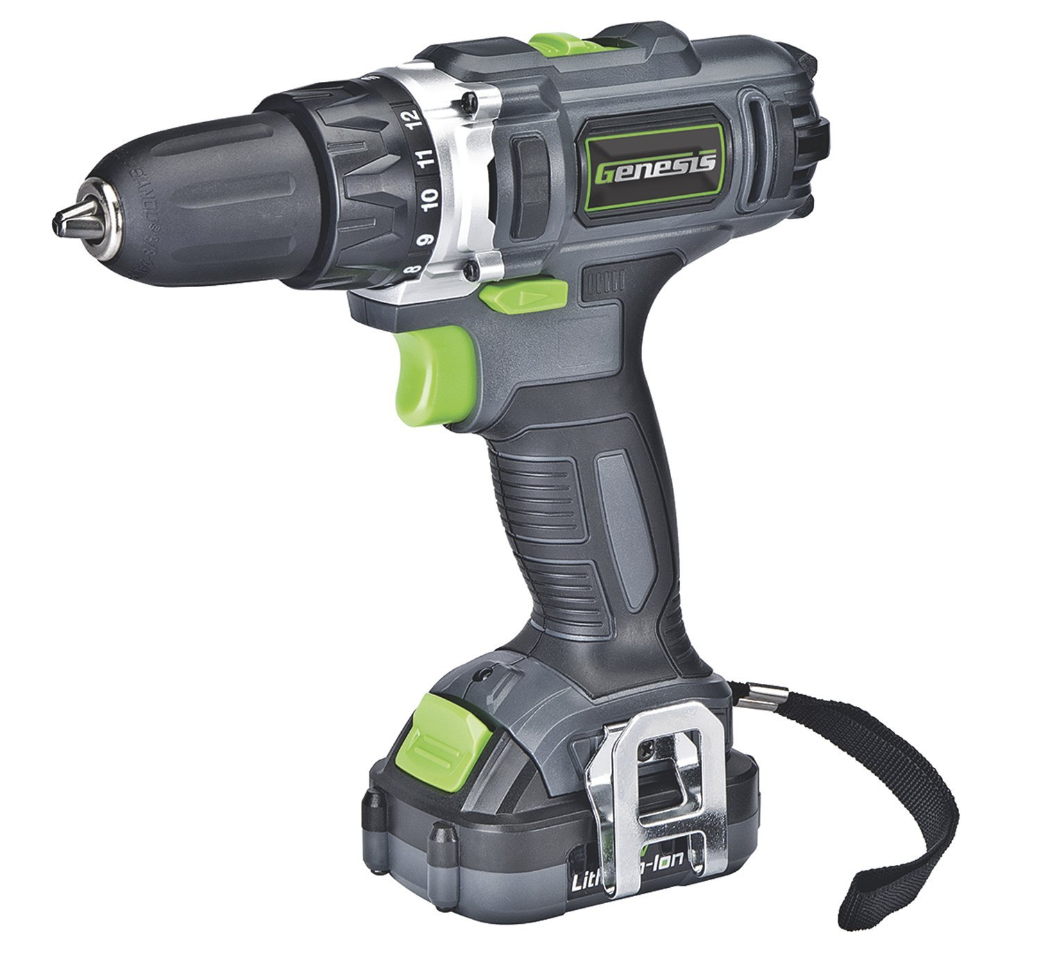 Amazon.com: Genesis GLCD122P 12V Lithium-Ion 2-Gear Variable Speed ...