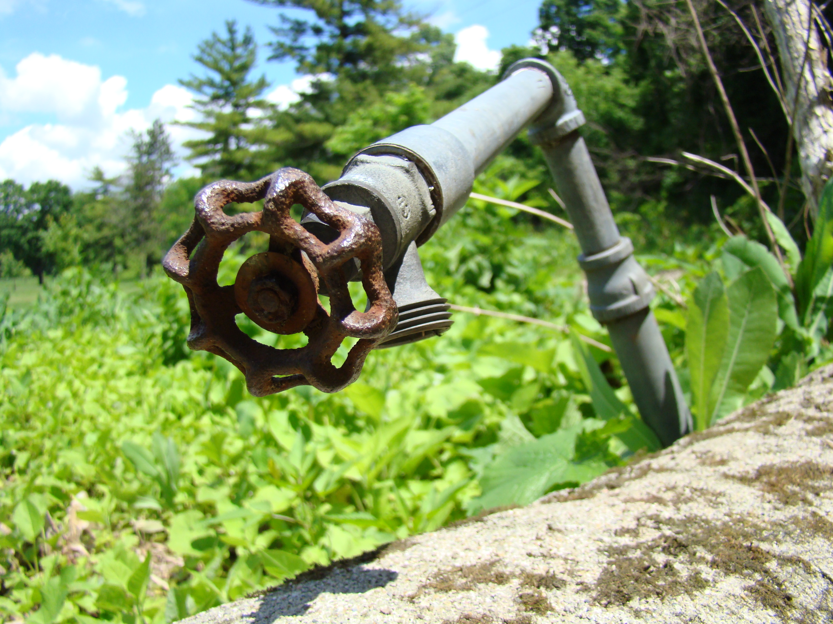 Griggs Reservoir Park, Franklin County, Outside, Pipe, Valve, HQ Photo