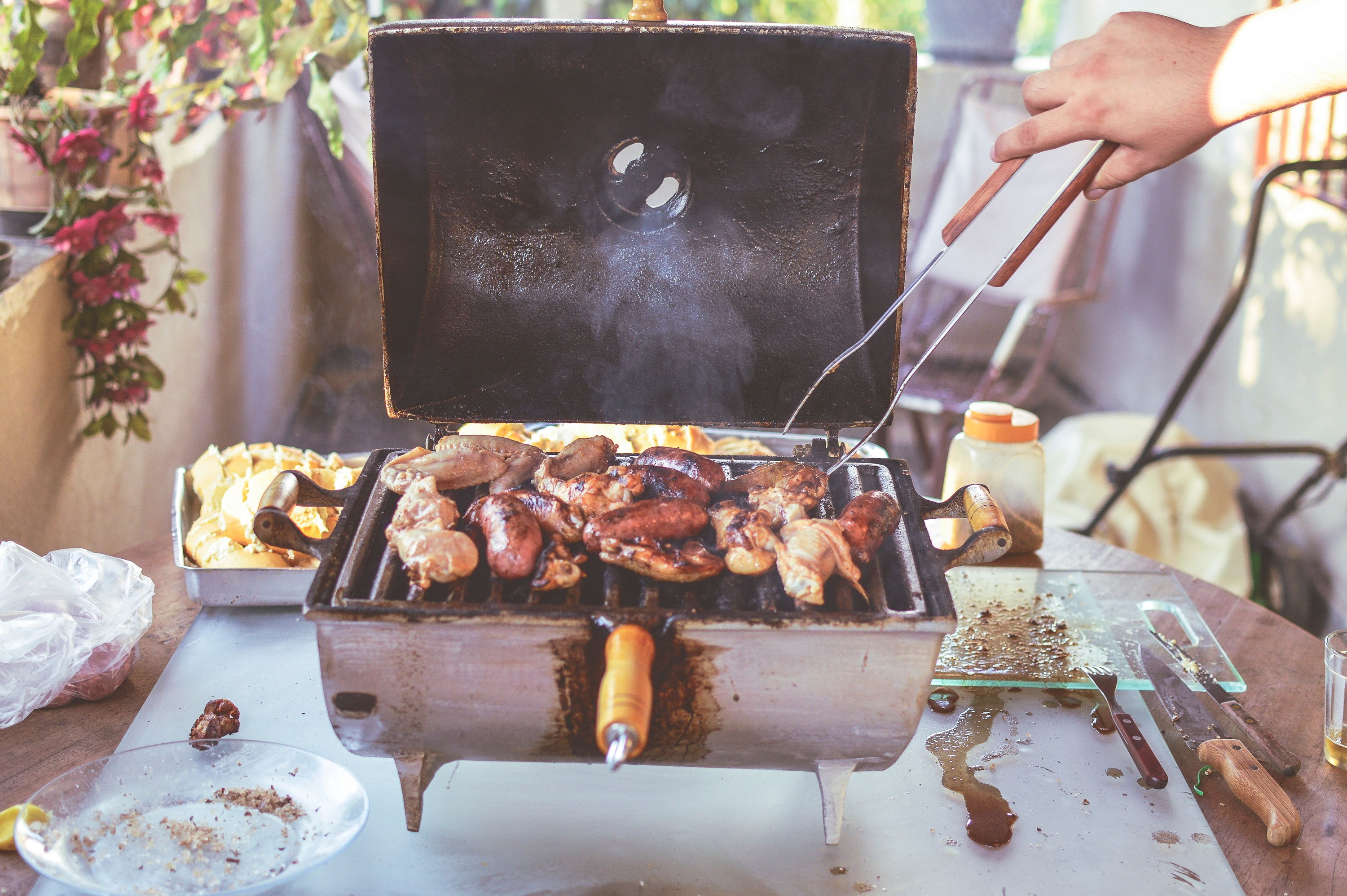 Grilled Meat, Meat, Handmade, Lunch, Raw, HQ Photo