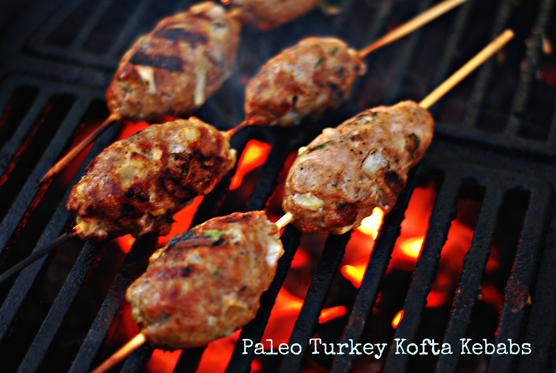 Turkey Kofta Kebabs - GrillGirl: healthy grilling recipes, big green ...