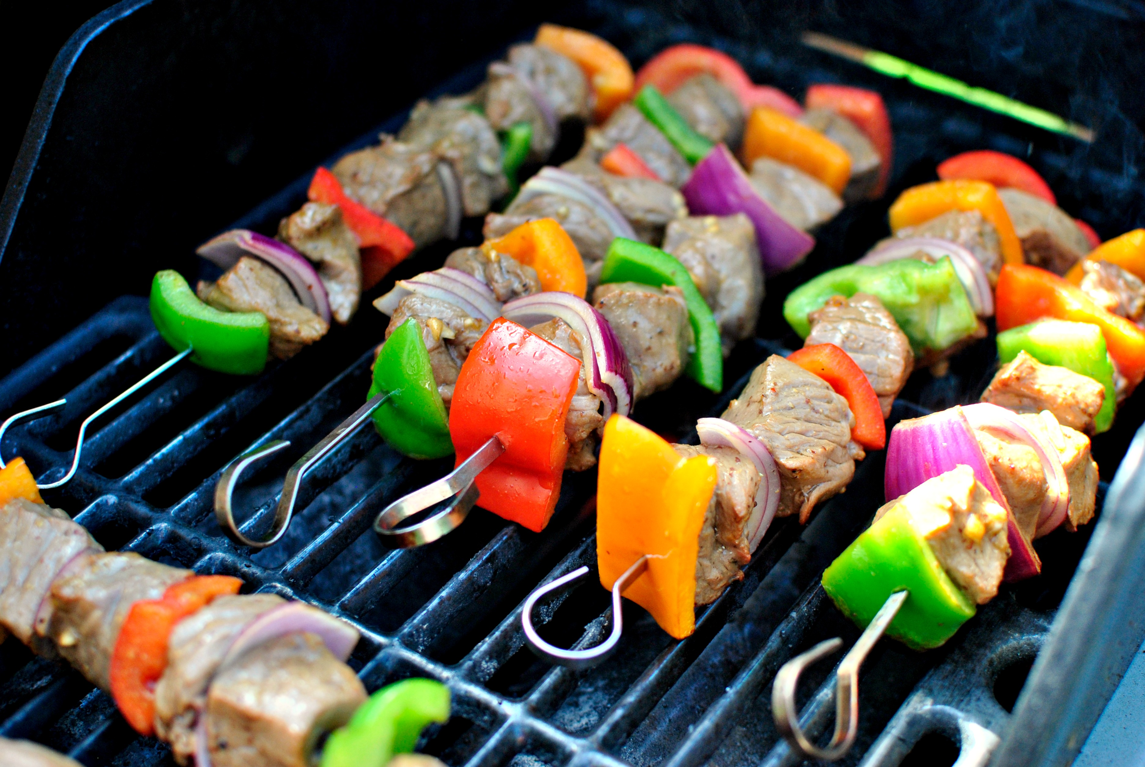 Simply Scratch Grilled Marinated Steak Kebabs - Simply Scratch