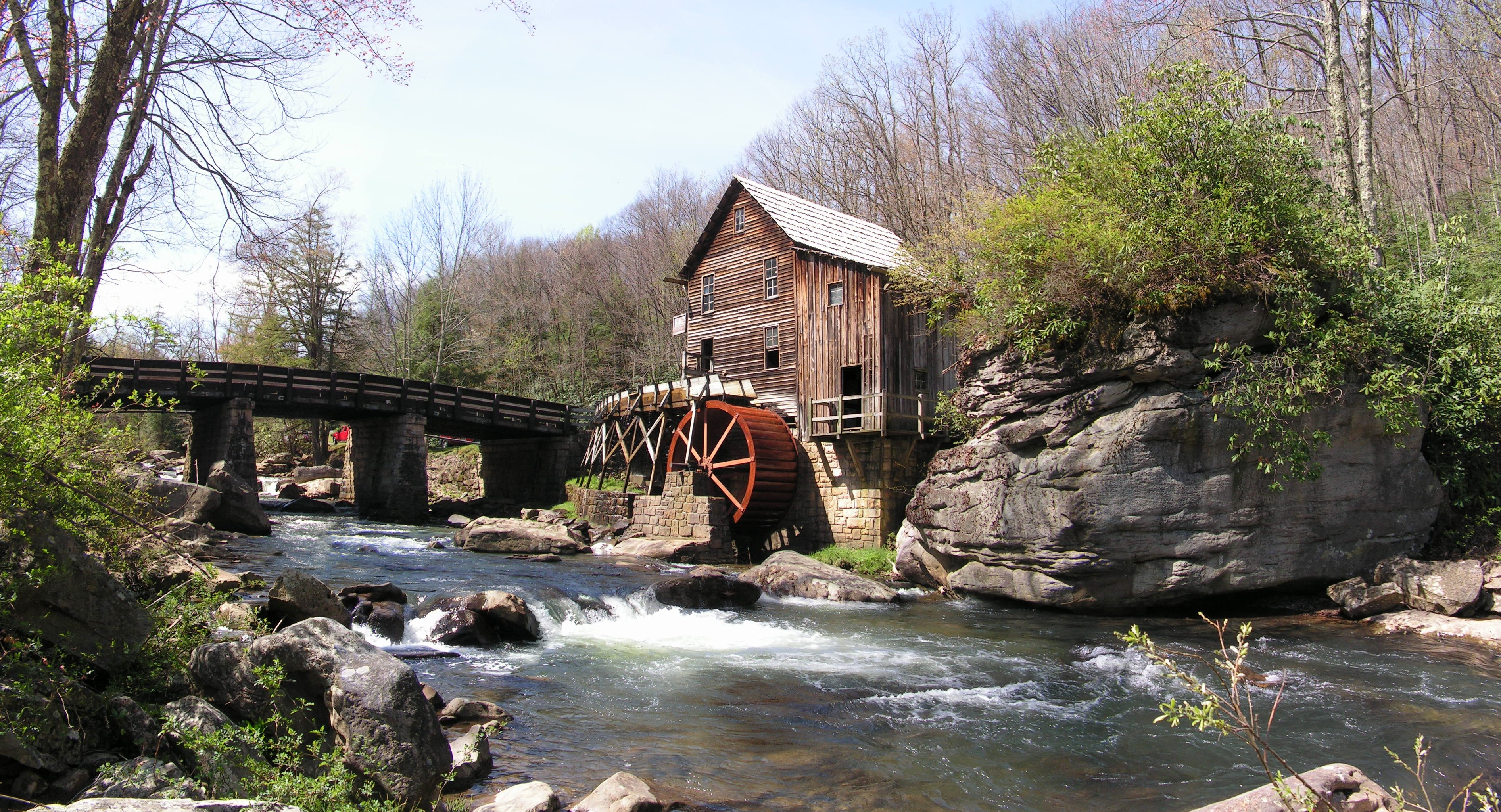 Grist mill photo