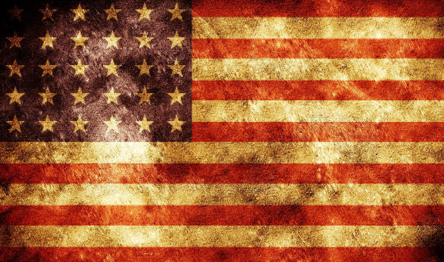 Grunge American flag, America, American, Burned, Burnt, HQ Photo