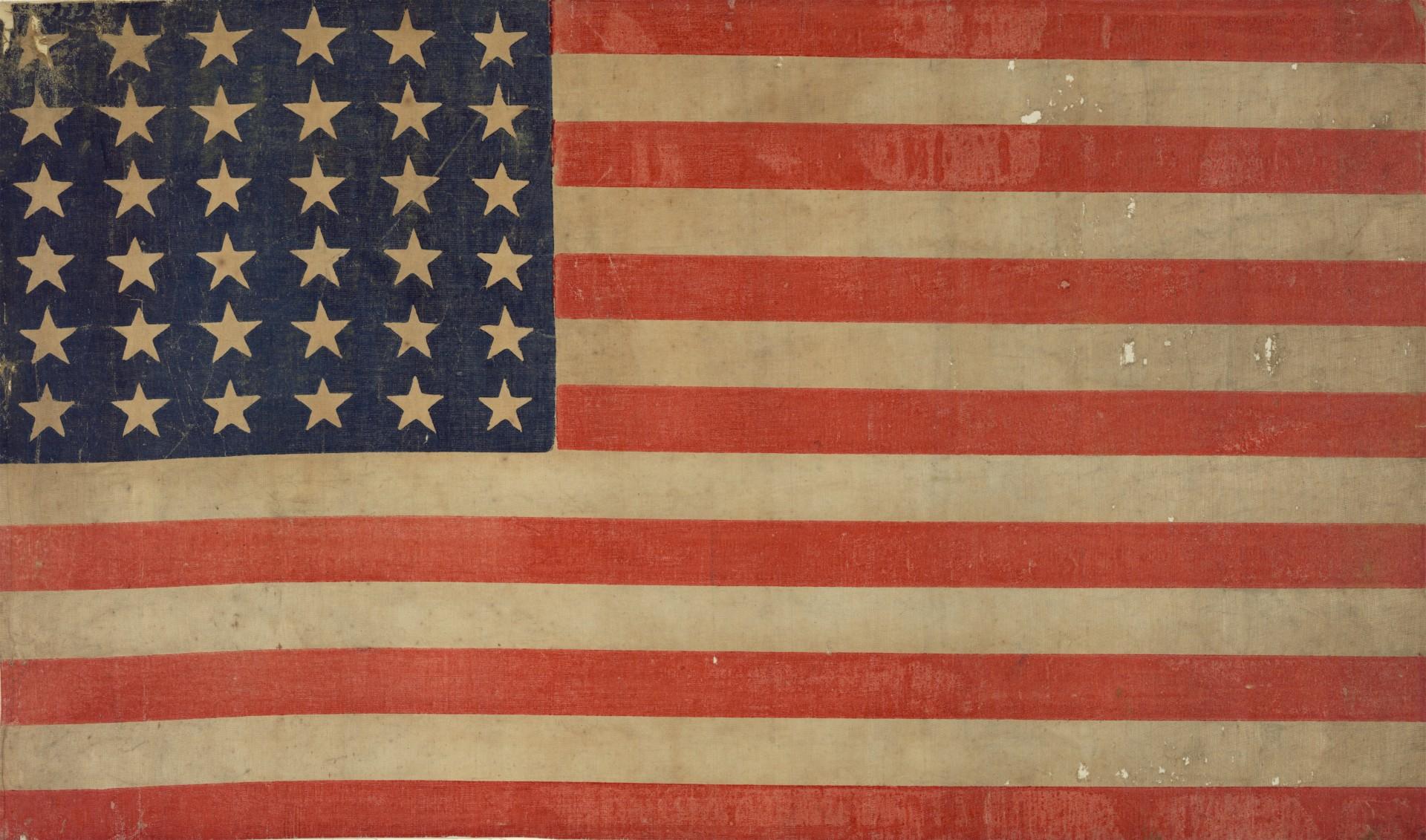 Grunge American Flag Background Free Stock Photo - Public Domain ...