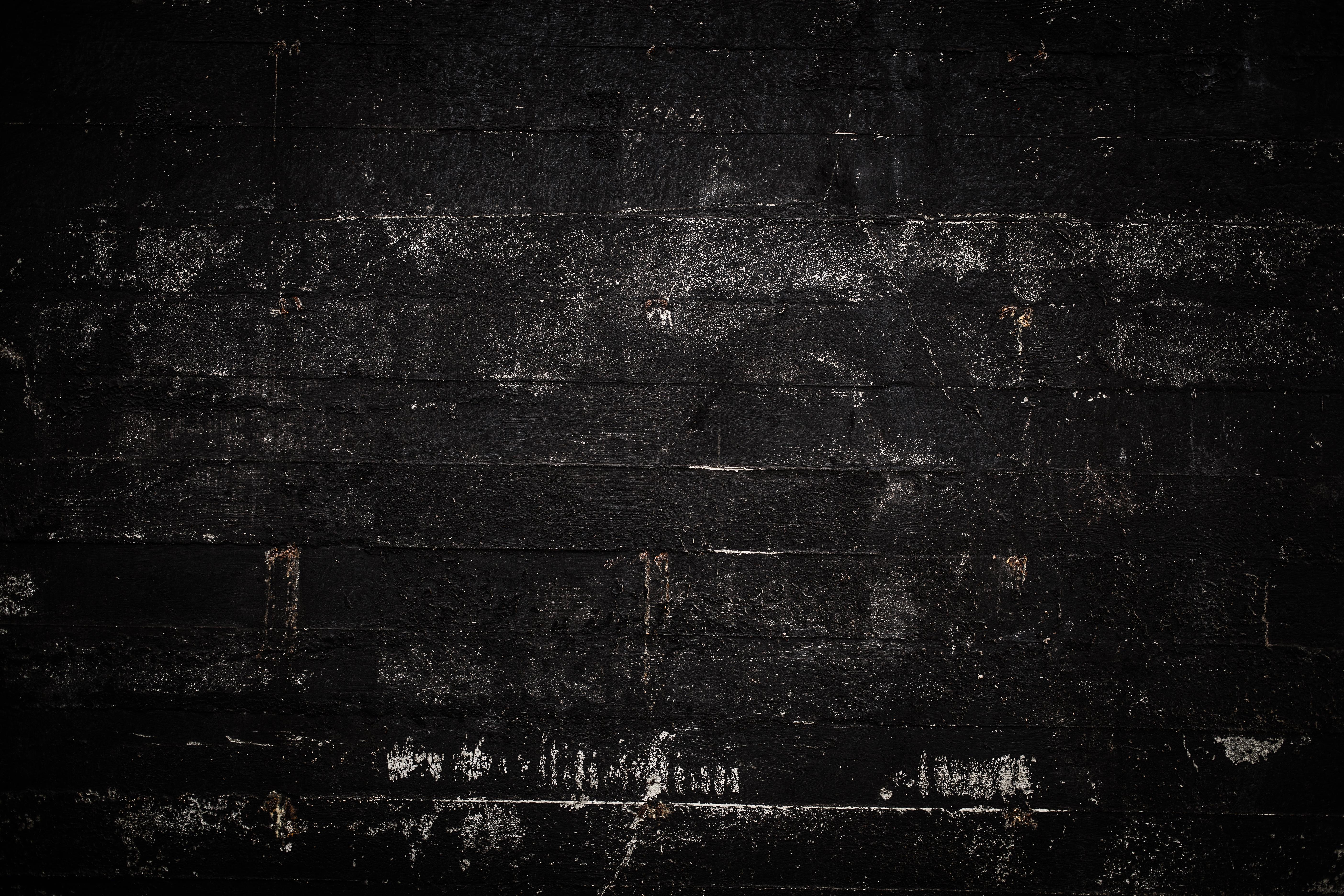 black wall texture. Grunge Black Wall Texture W