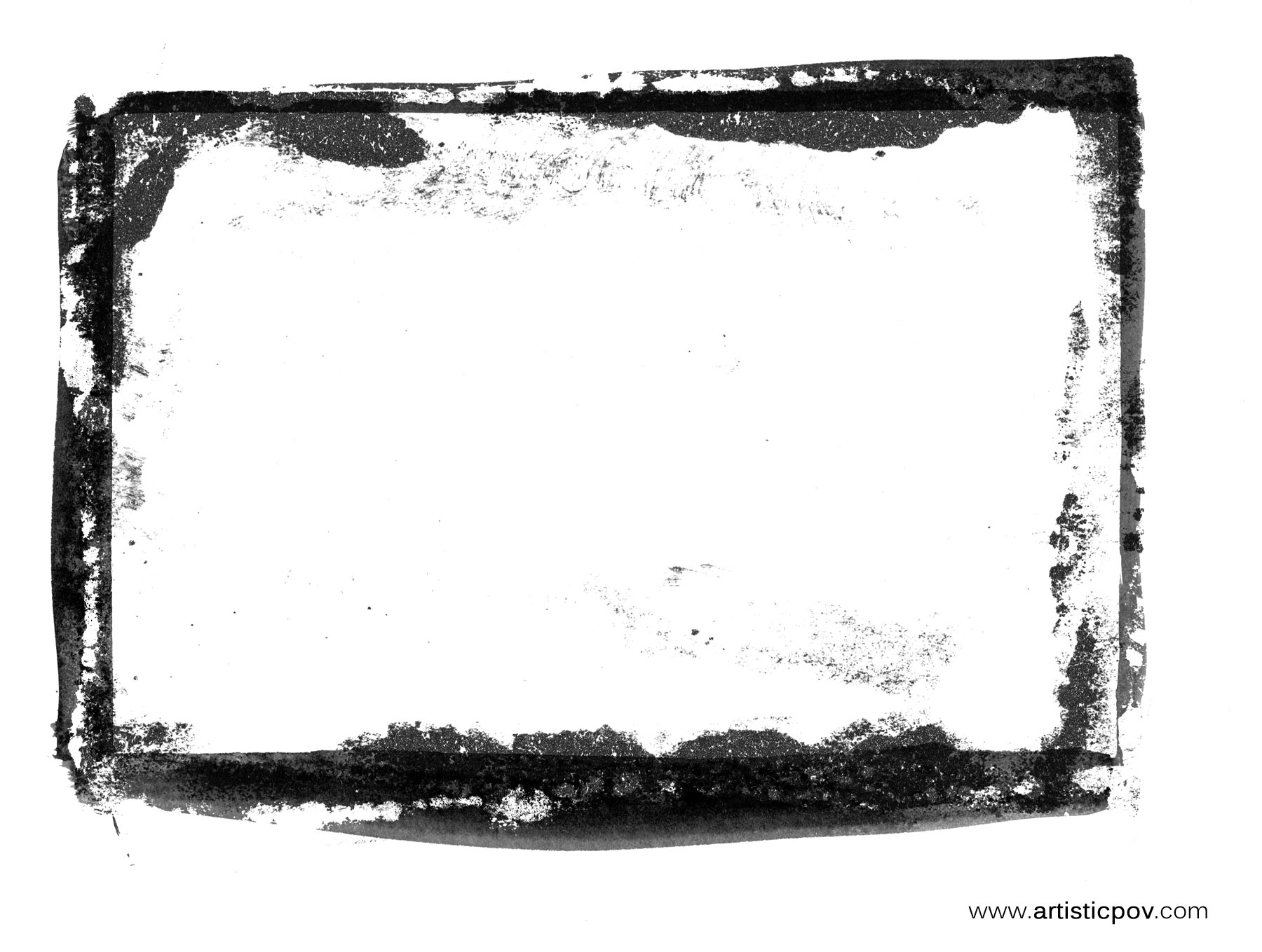 Grunge border texture photo