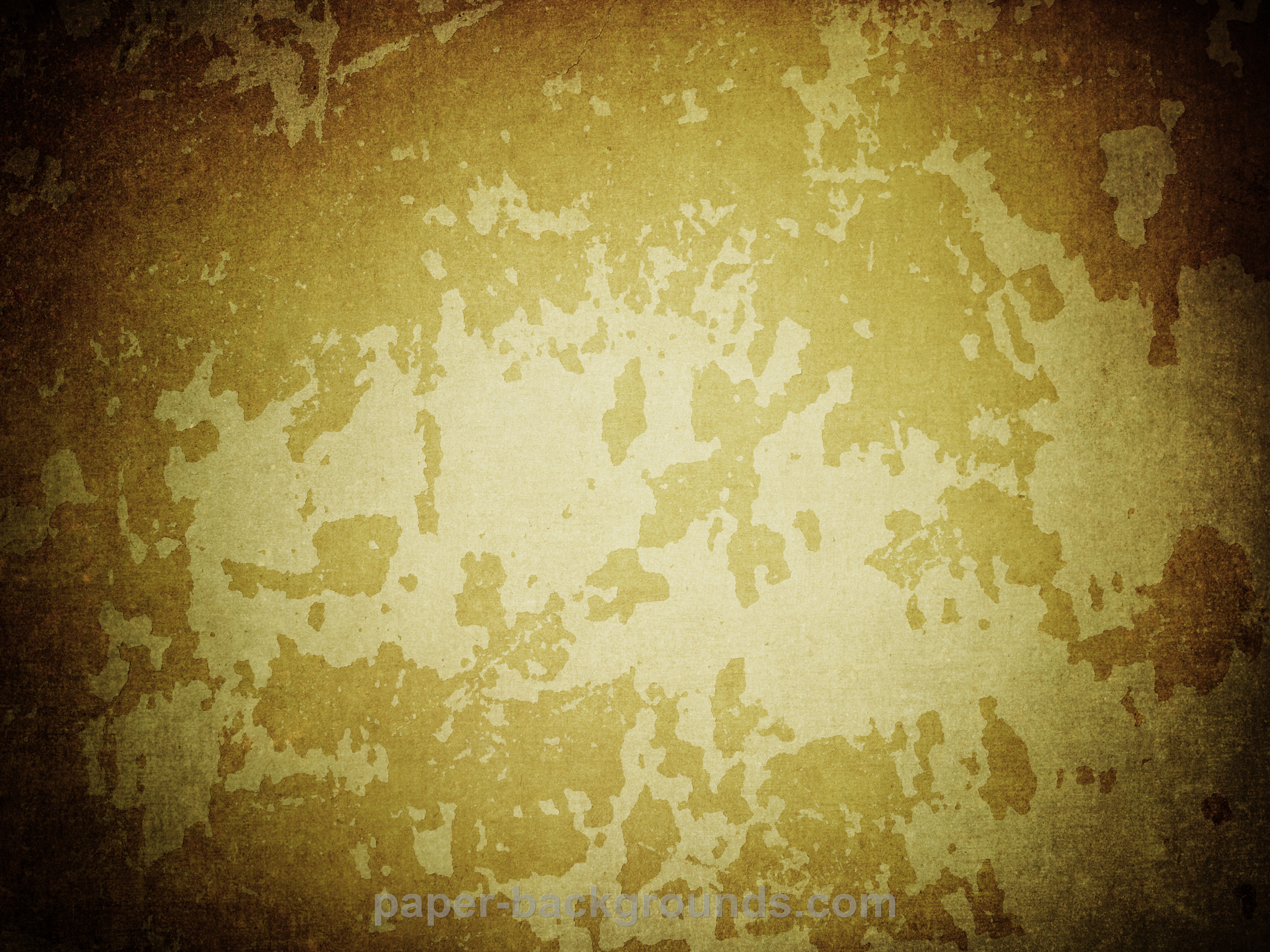 Paper Backgrounds | yellow-grunge-overlay-texture