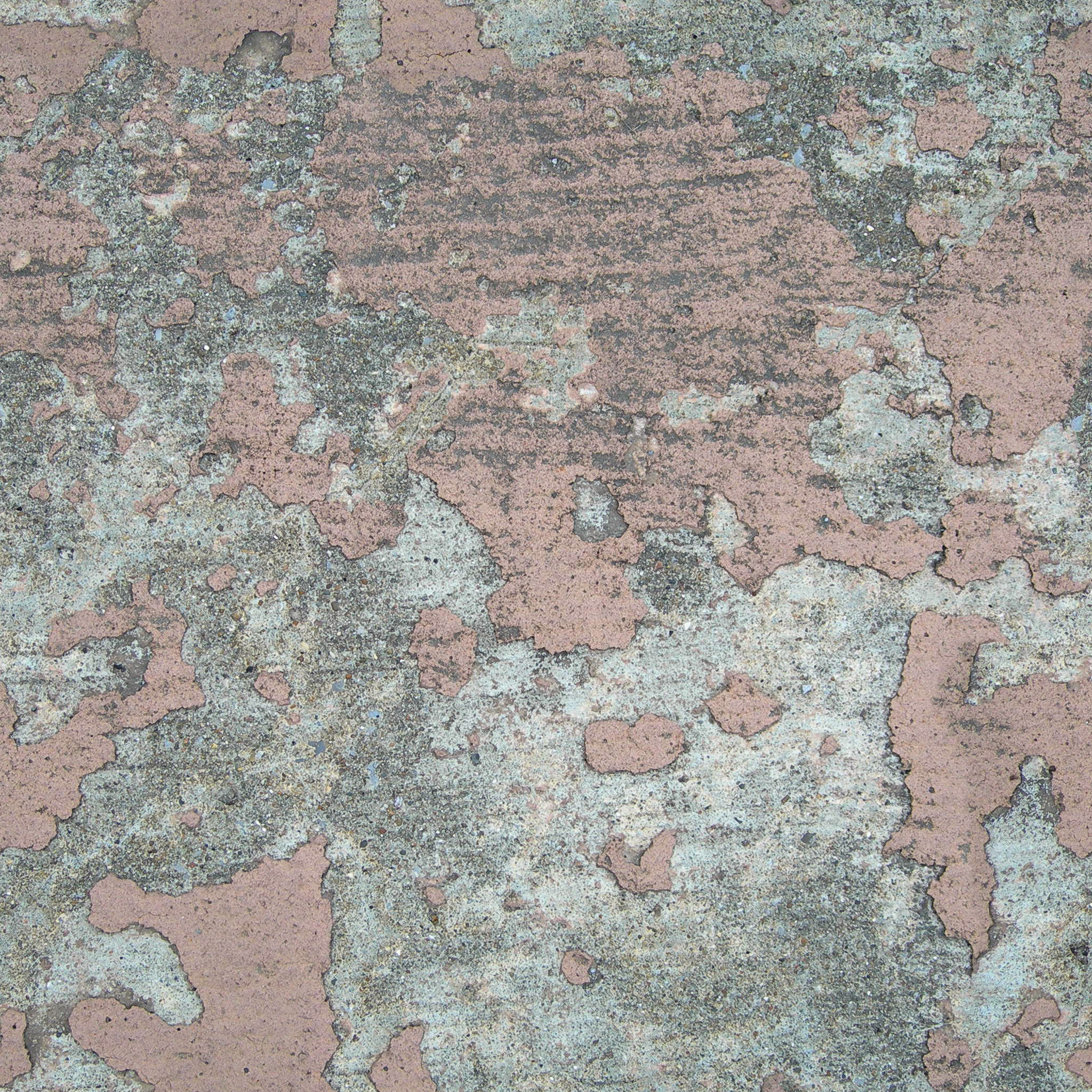 Free photo Grunge Painted Concrete Stone Peeled Peeling Free