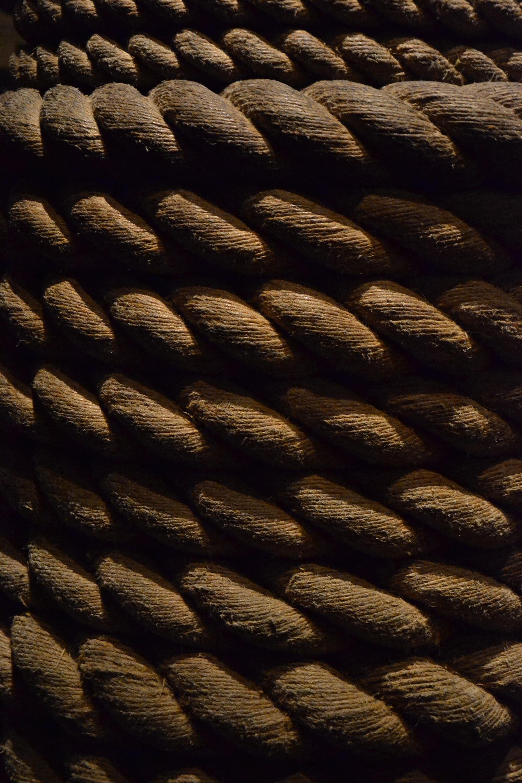 Grunge rope photo