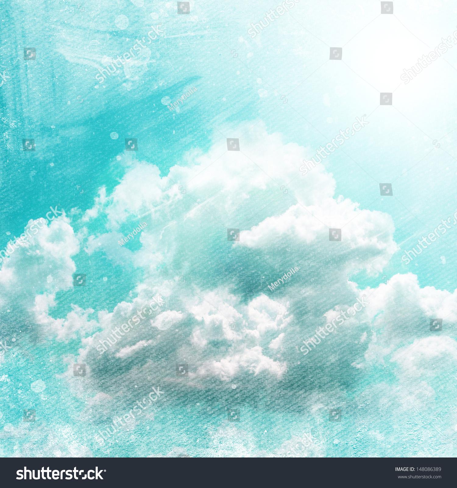 Grunge Sky Background Stock Illustration 148086389 - Shutterstock