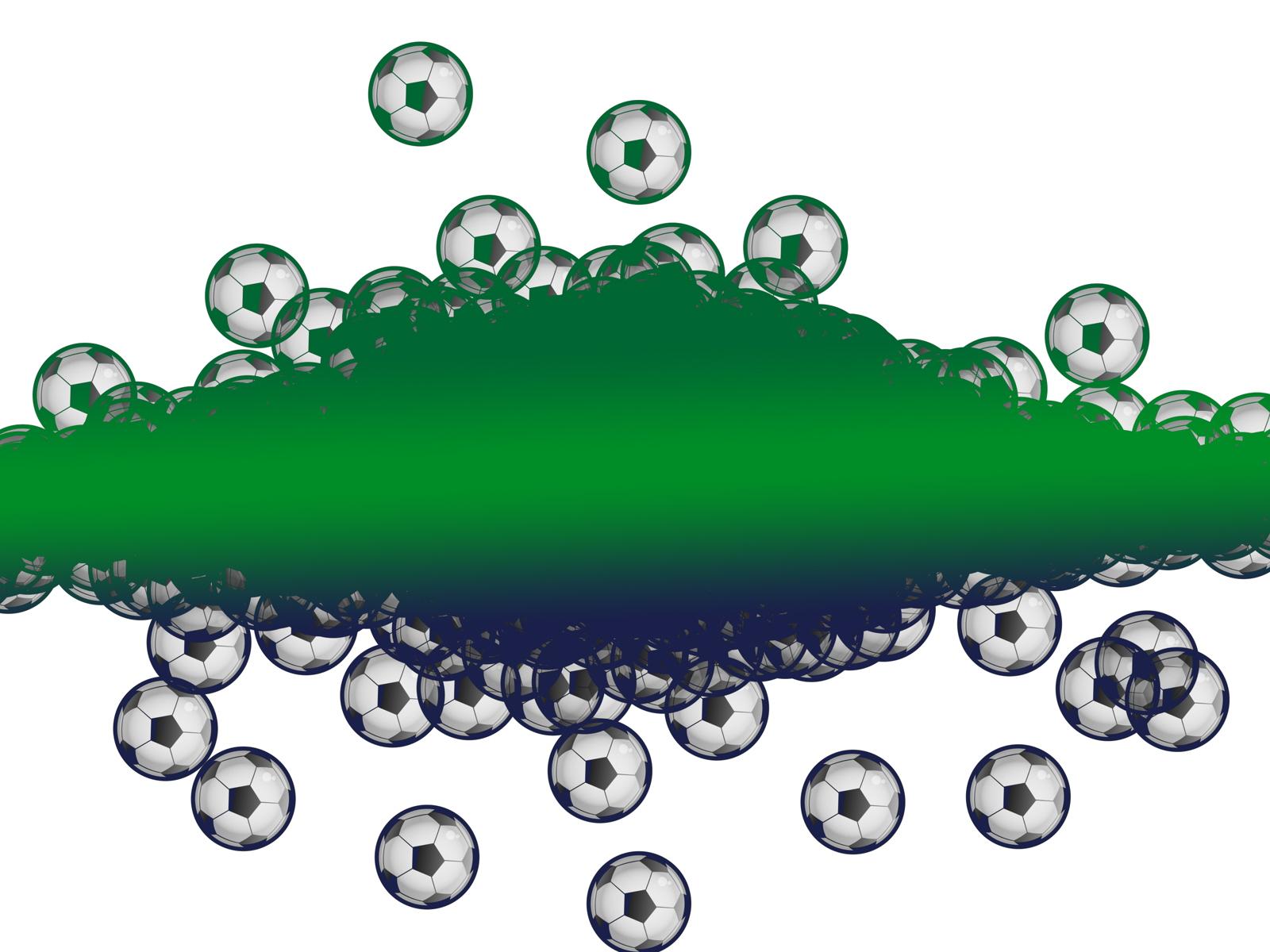 Grunge soccer photo