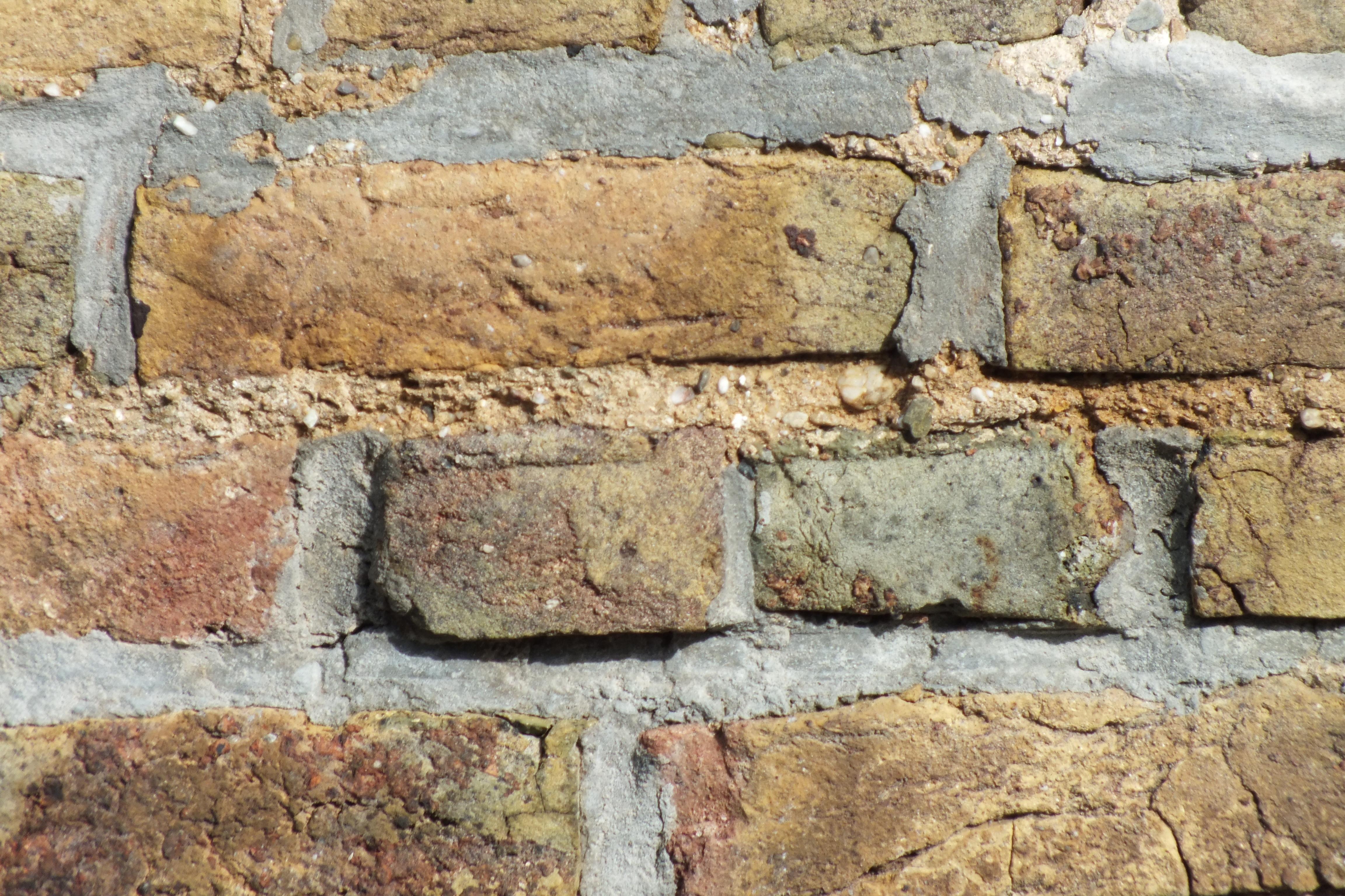 Grunge Wall, Bricks, Brown, Grunge, Stone, HQ Photo