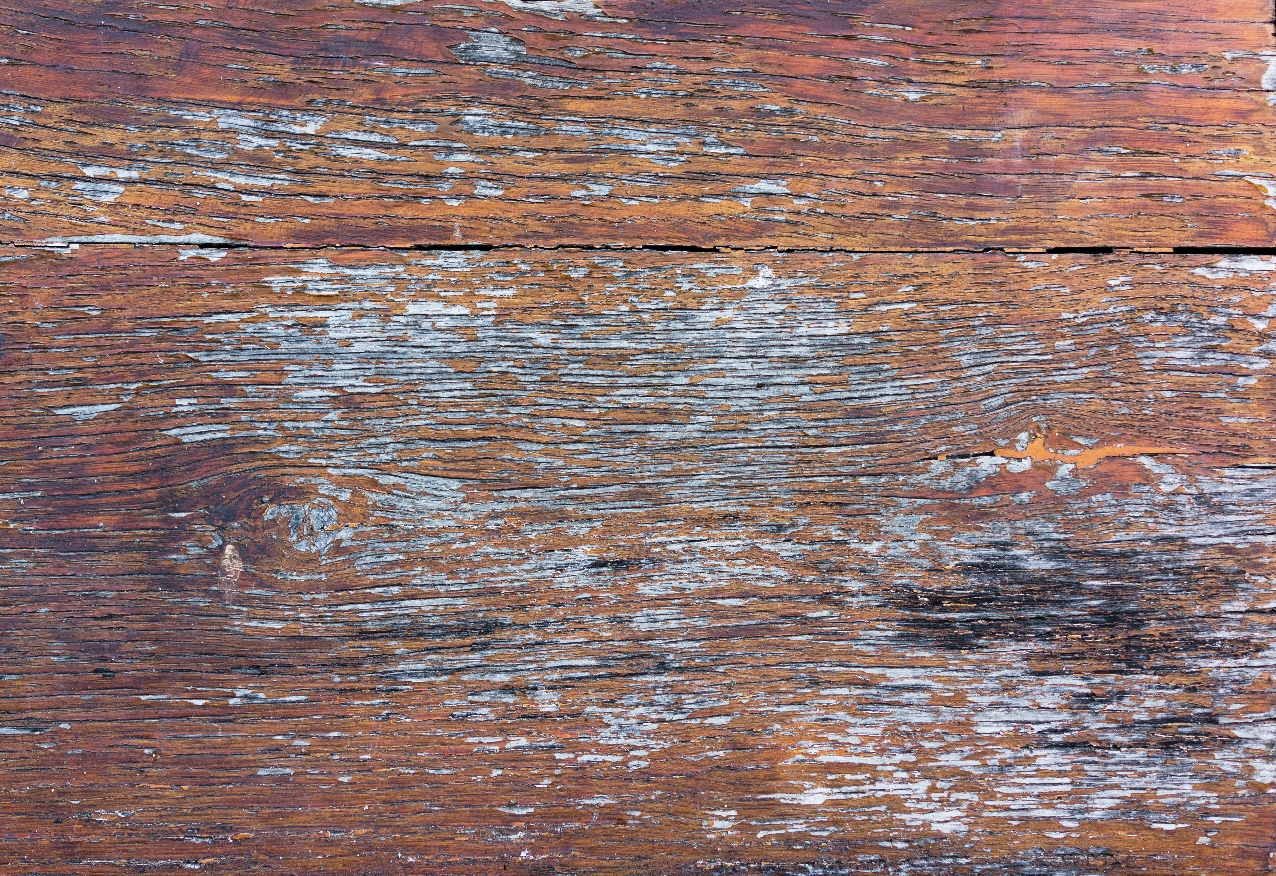 Retro orange wooden surface
