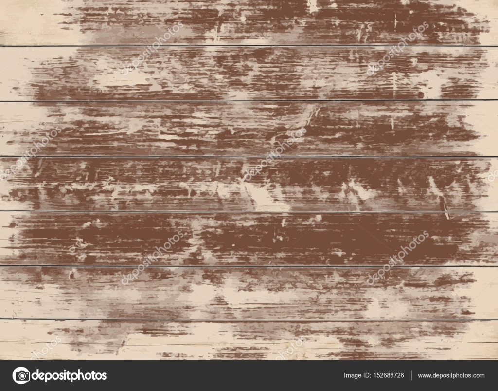 Brown grunge wooden wall, table, floor surface. Dark vector wood ...