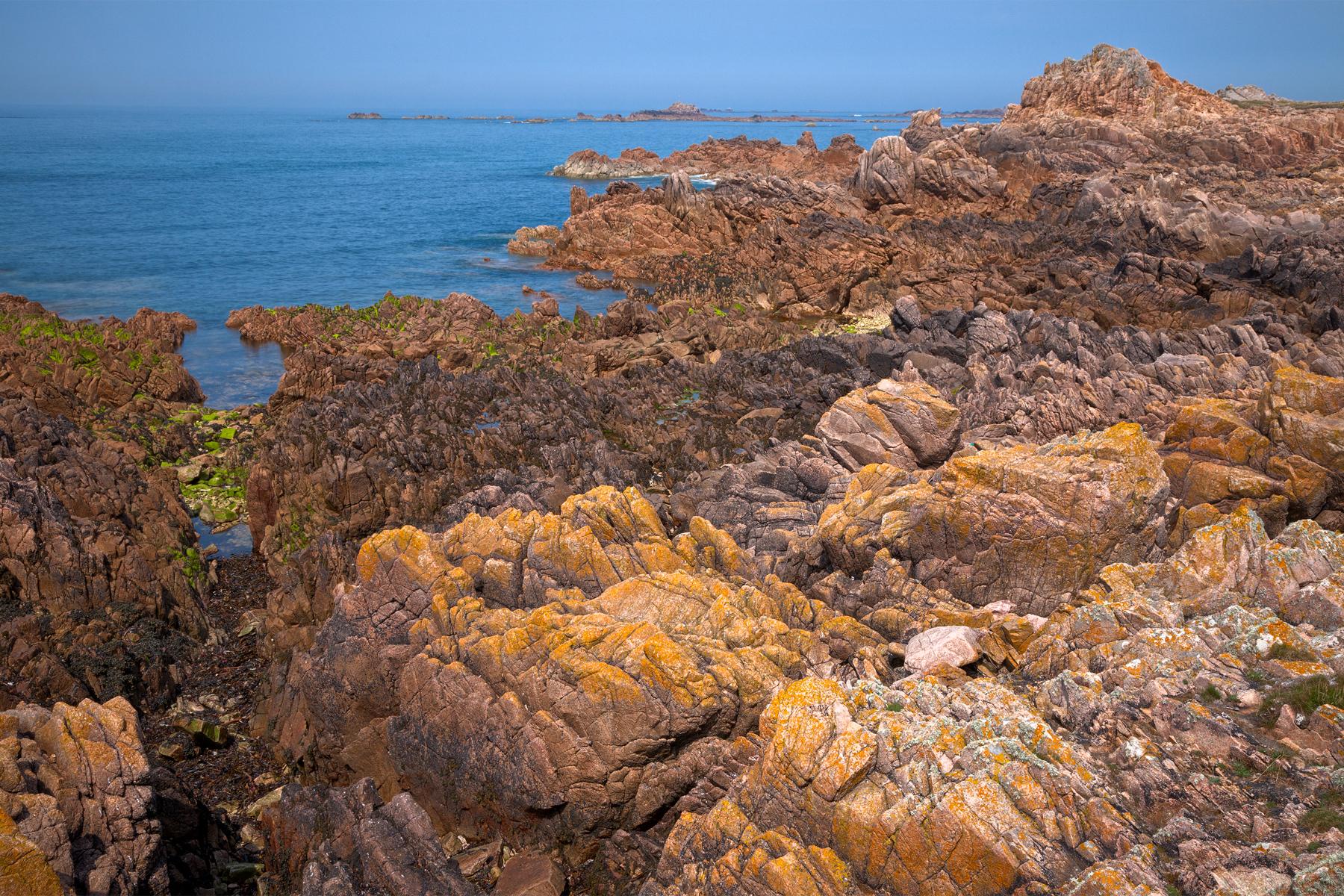 Guernsey cliffs - hdr photo