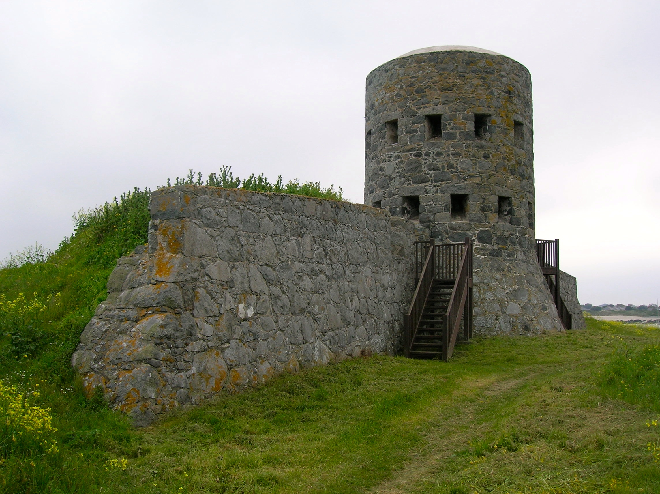 Guernsey tower photo