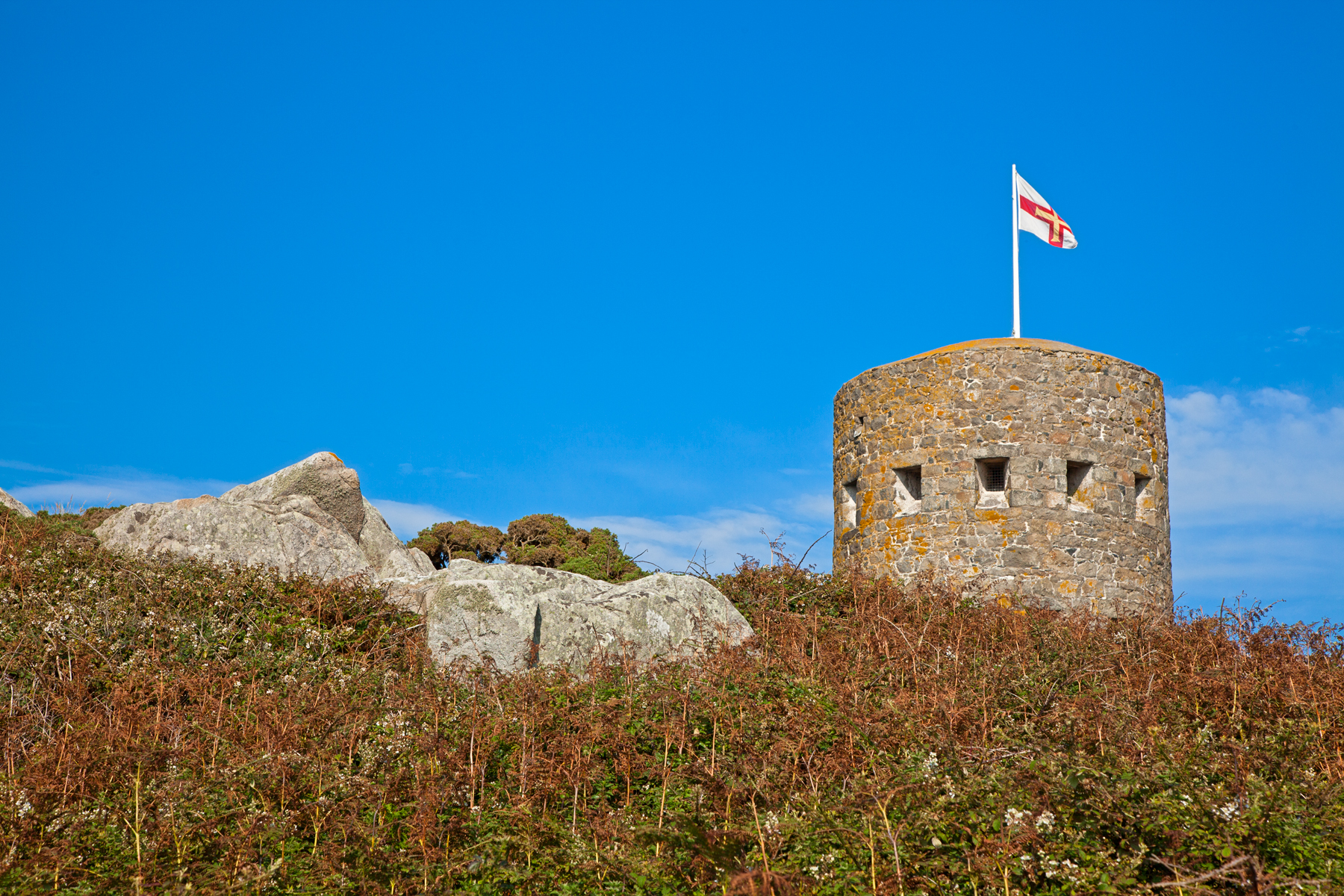 Guernsey Tower, Photo, Resource, Res, Red, HQ Photo